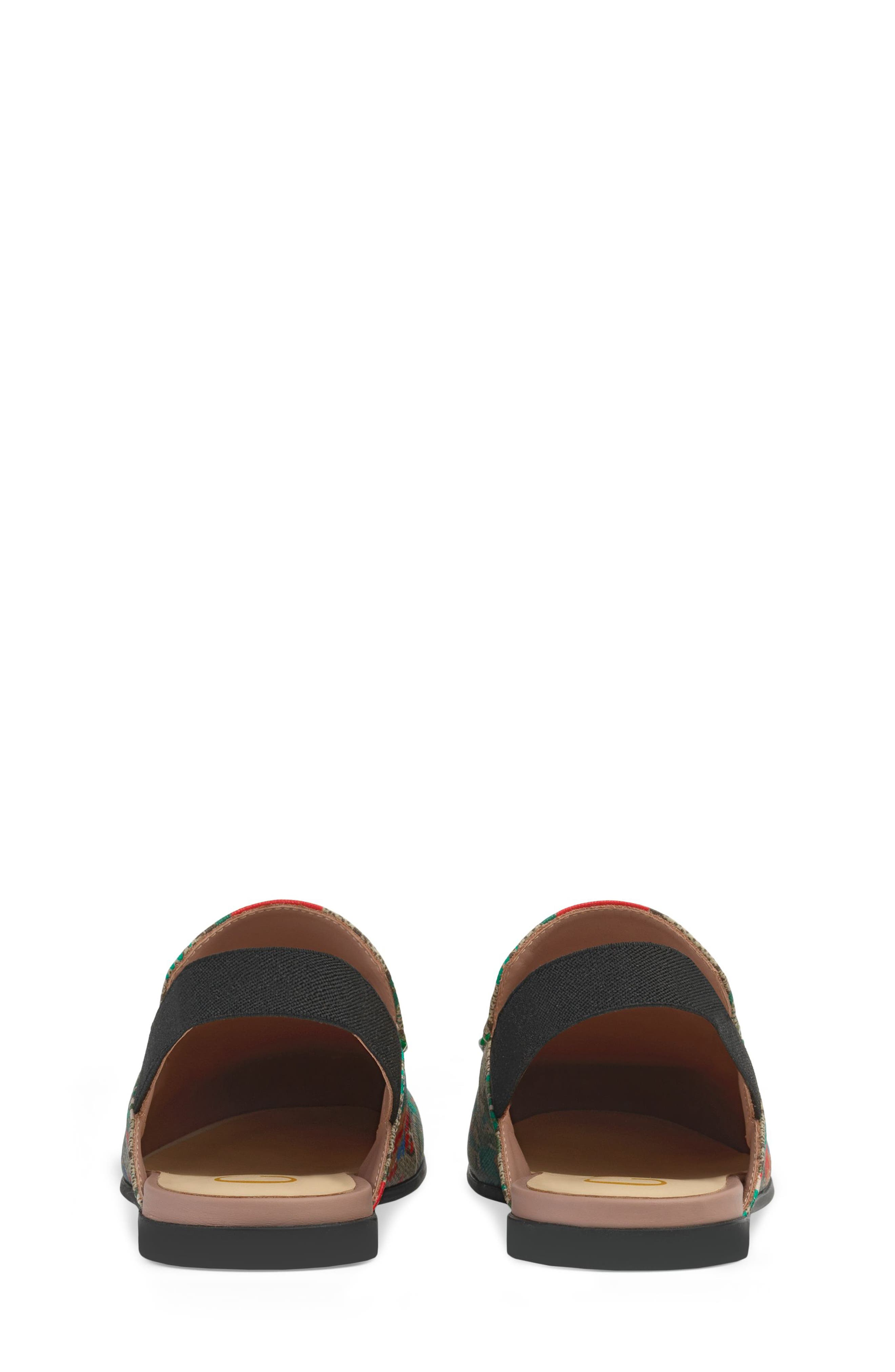 Princetown Slingback Loafer Mule,                             Alternate thumbnail 2, color,                             BEIGE EBONY MULTI