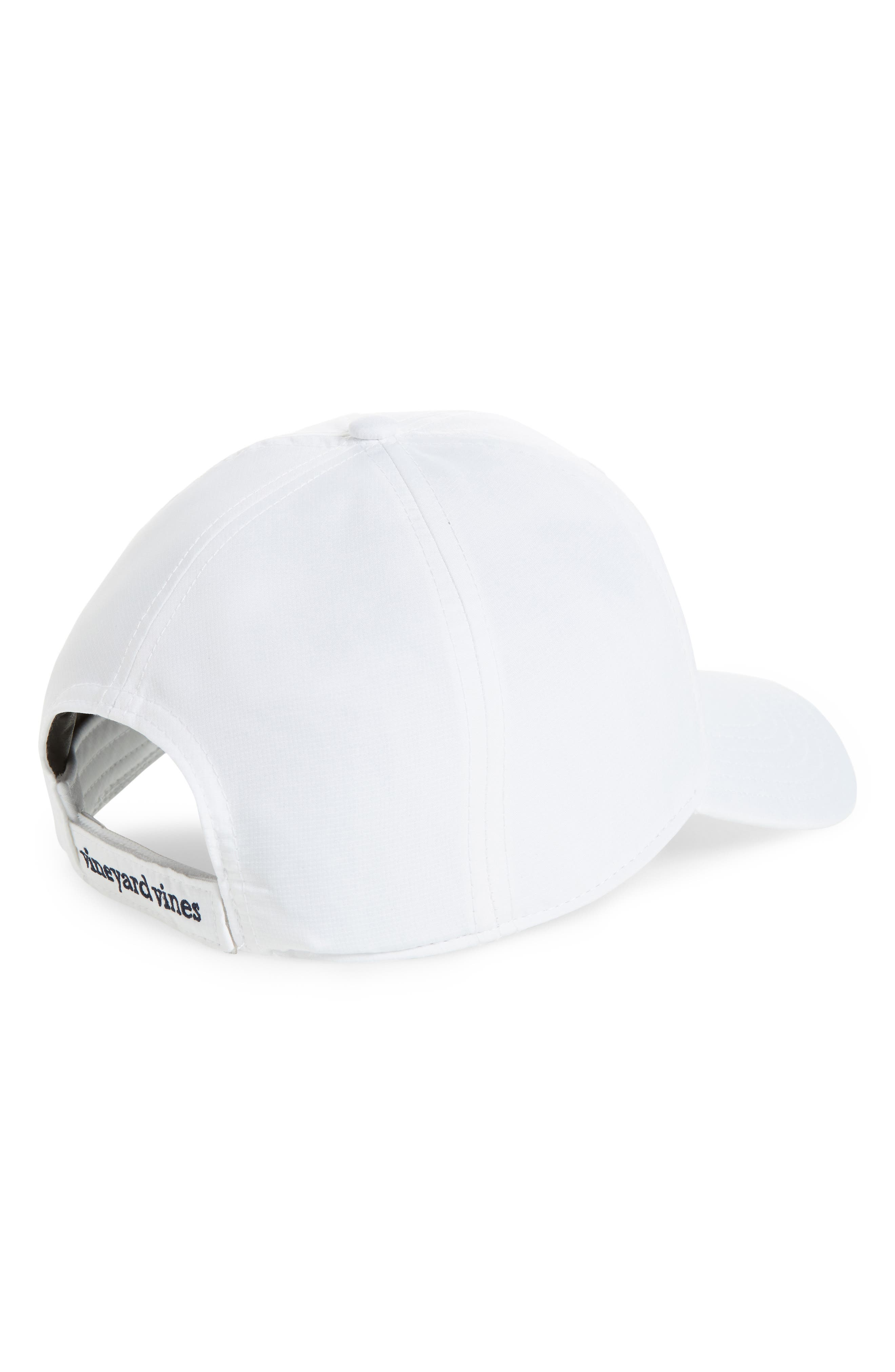 Perf Classic Woven Whale Ball Cap,                             Alternate thumbnail 2, color,                             100