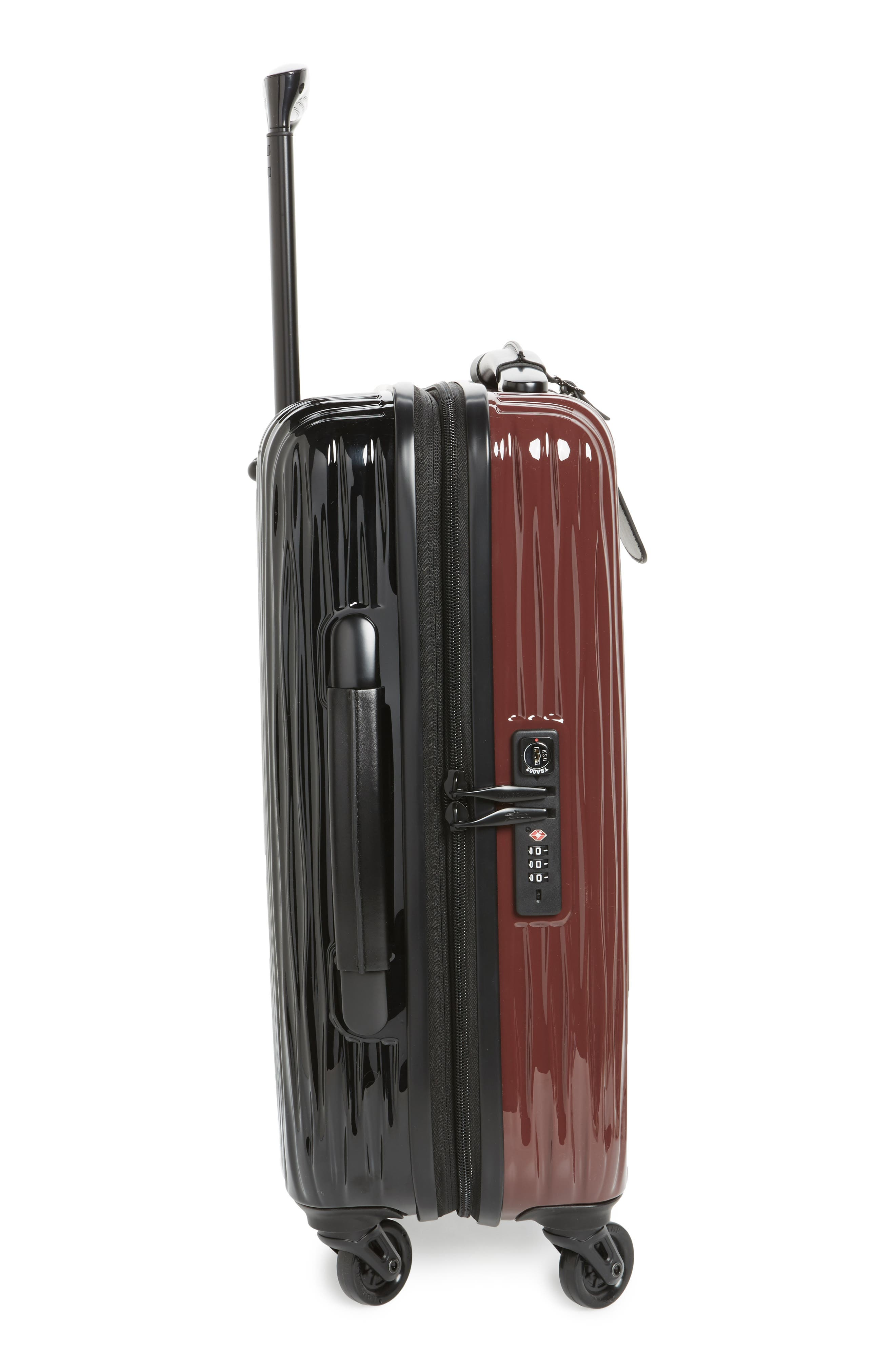 Ruban 22-Inch Four-Wheel Hard Shell Suitcase,                             Alternate thumbnail 3, color,                             001