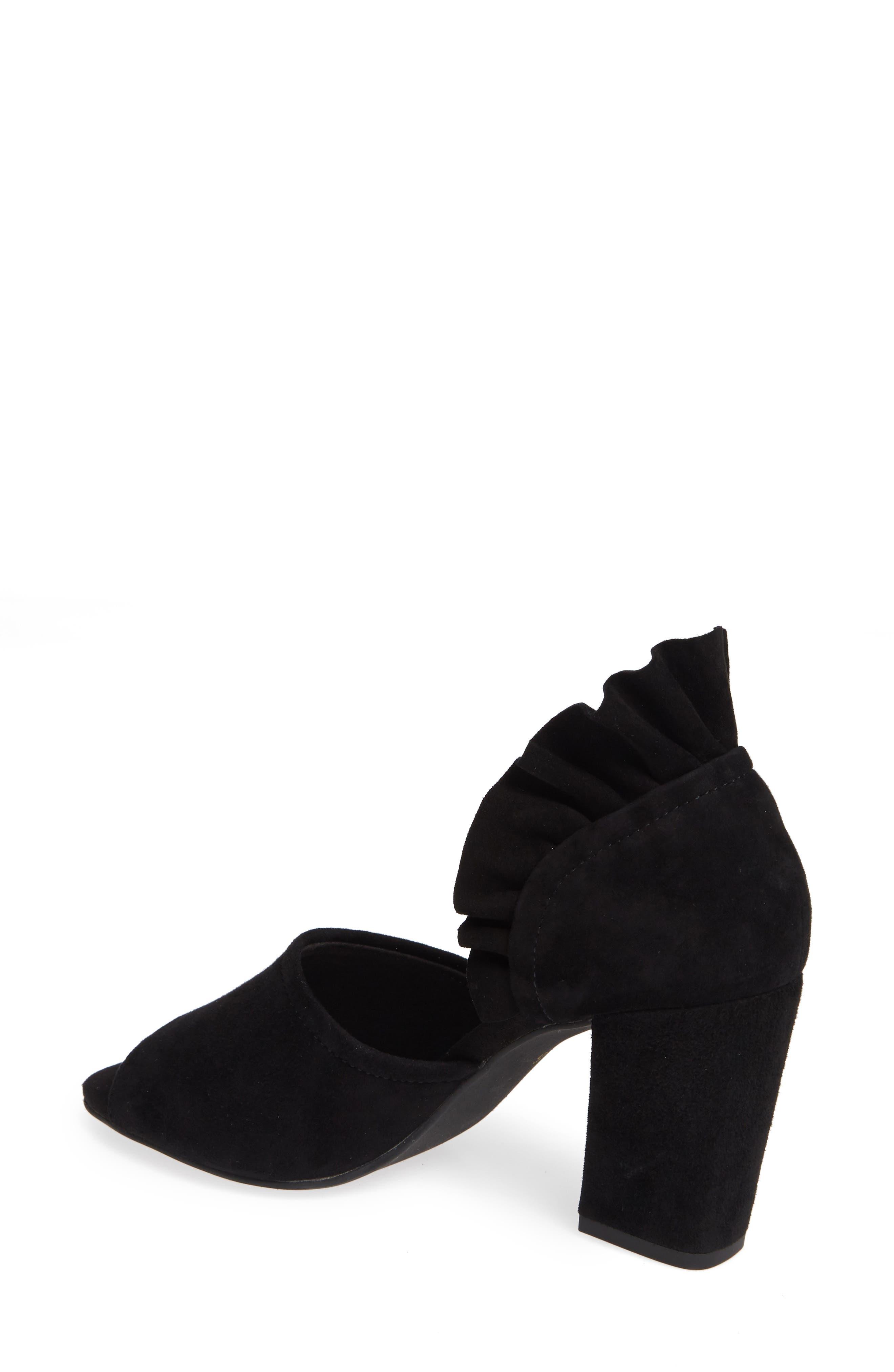 Tropical Sandal,                             Alternate thumbnail 2, color,                             BLACK SUEDE