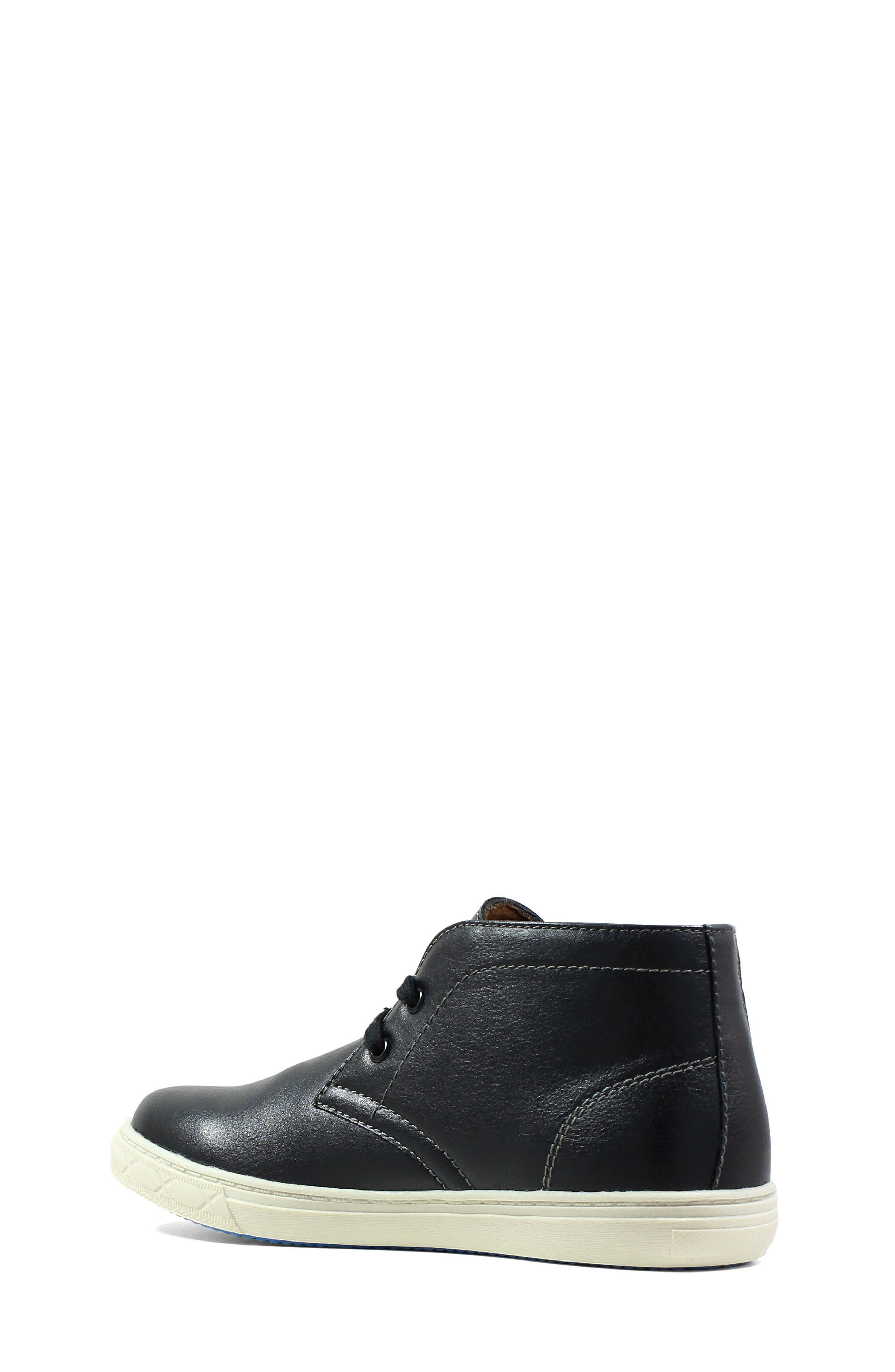 Curb Chukka Sneaker Boot,                             Alternate thumbnail 2, color,                             BLACK