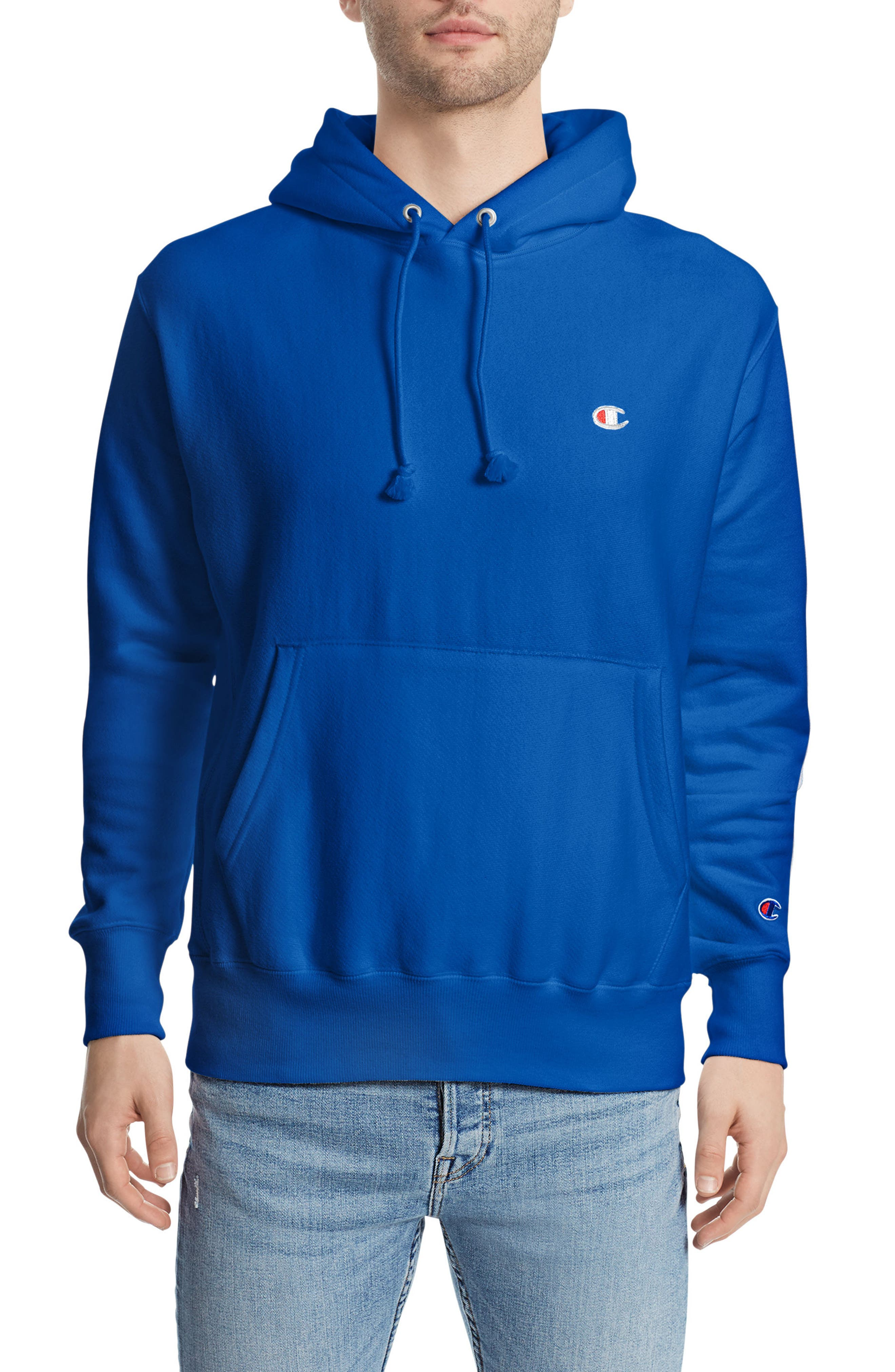 Reverse Weave<sup>®</sup> Pullover Hoodie,                             Main thumbnail 7, color,