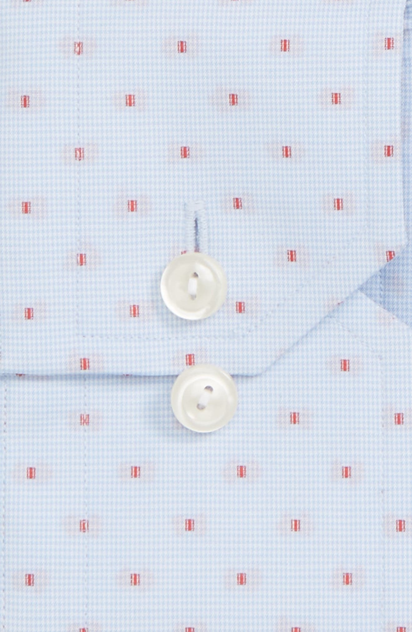 Contemporary Fit Dot Dress Shirt,                             Main thumbnail 1, color,                             400