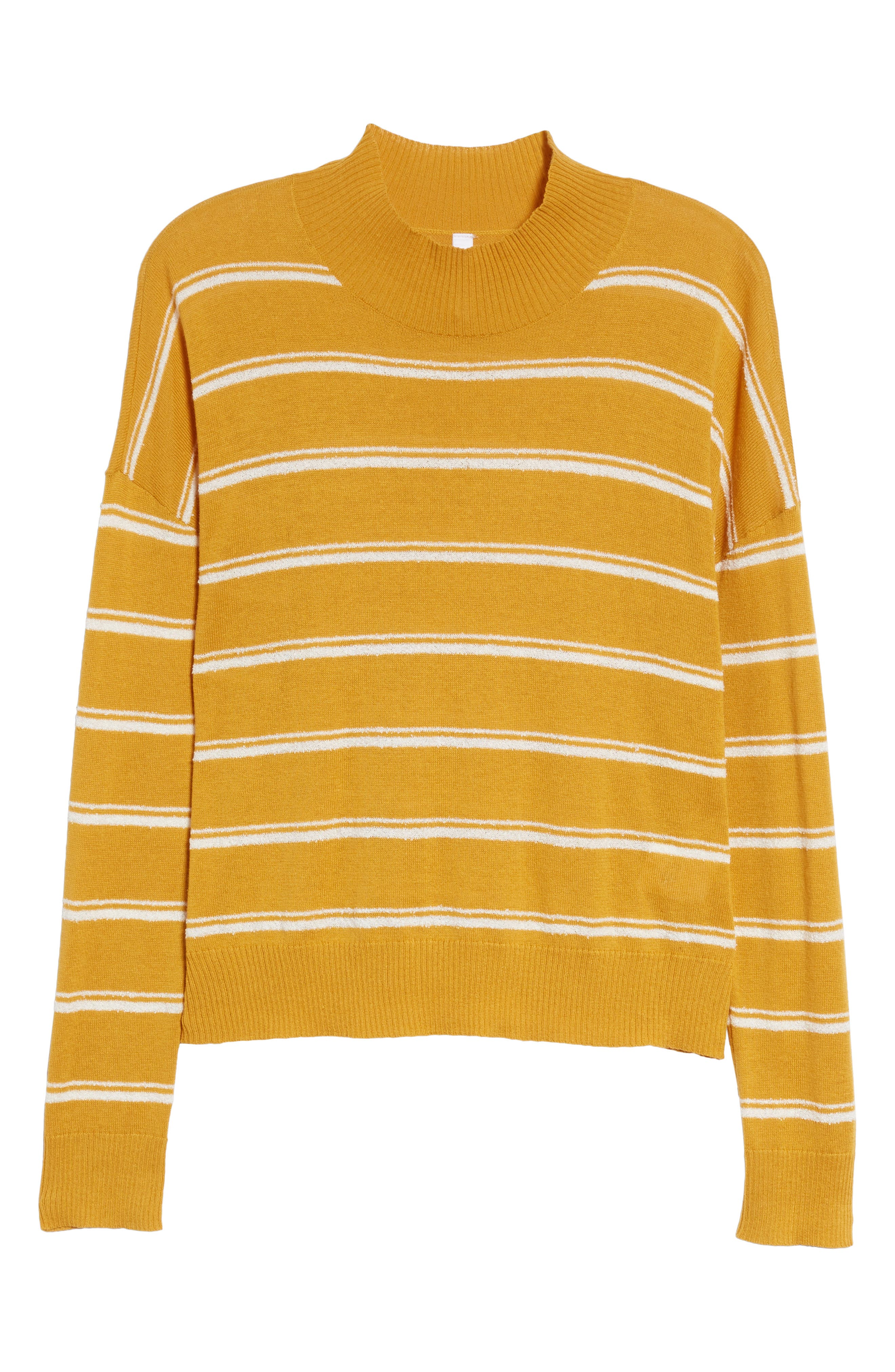 Armed Stripe Sweater,                             Alternate thumbnail 6, color,                             779