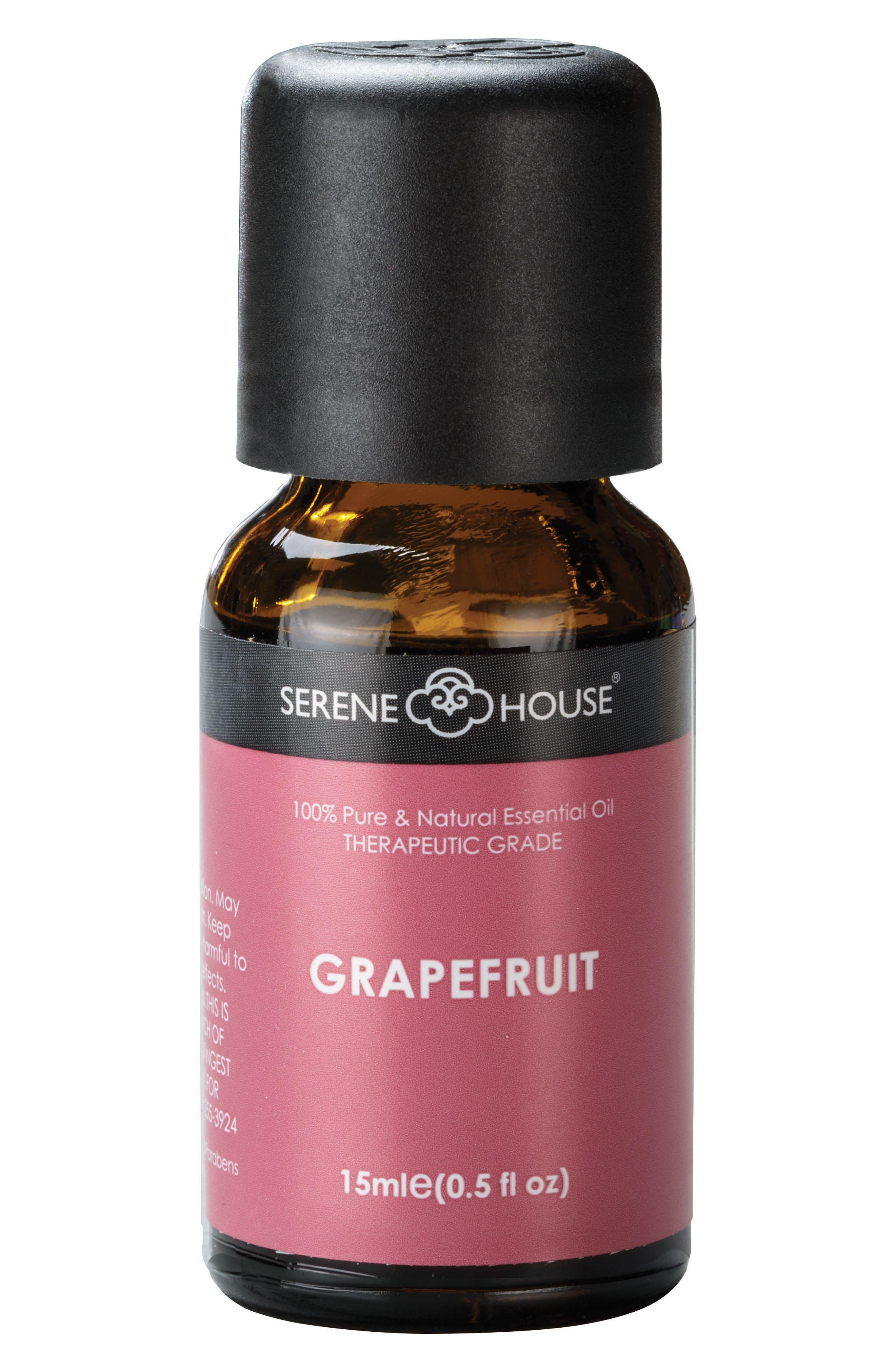 Pure & Natural Essential Oil,                             Main thumbnail 1, color,                             GRAPEFRUIT