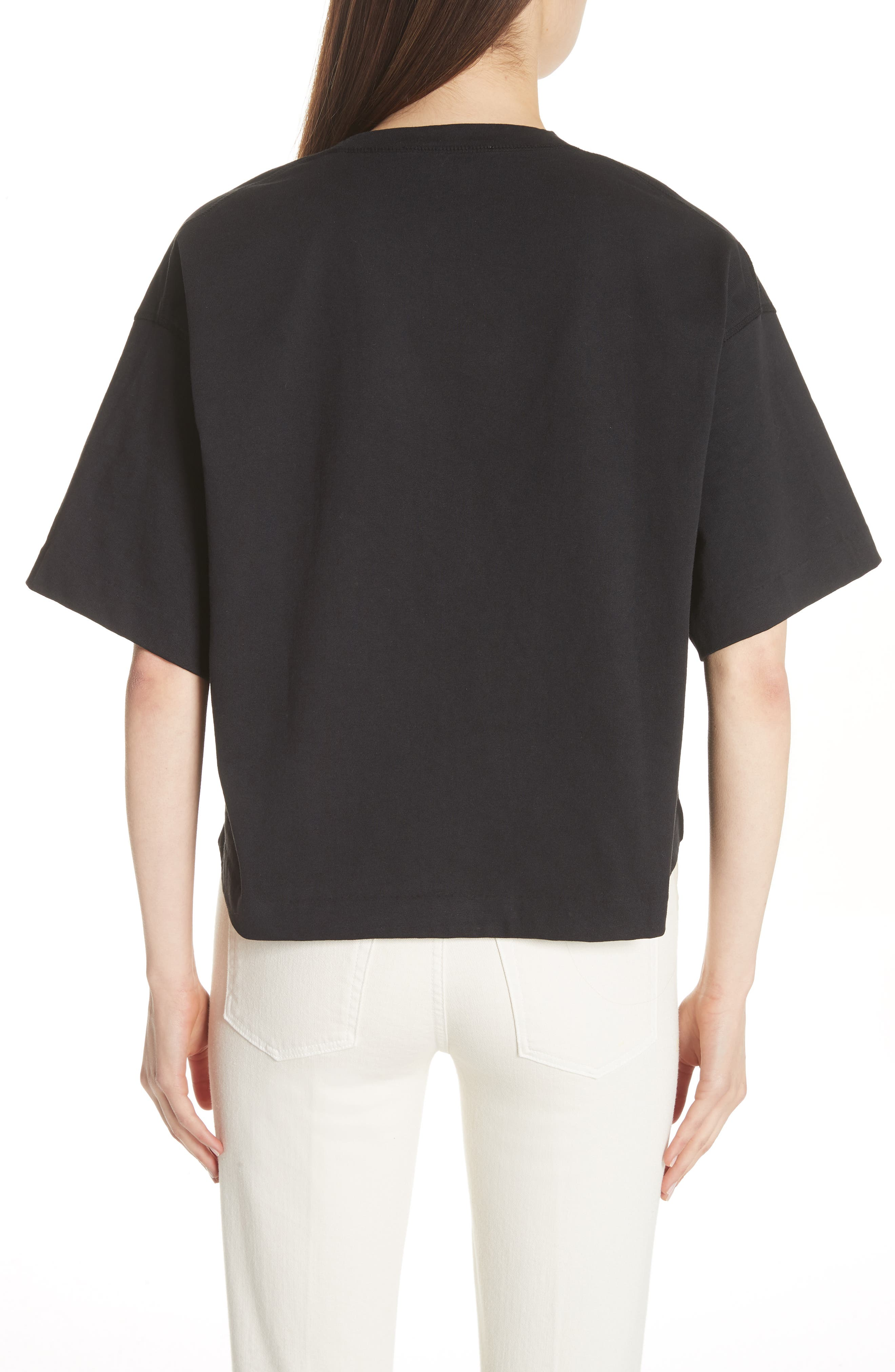 Cylea Crop Tee,                             Alternate thumbnail 2, color,