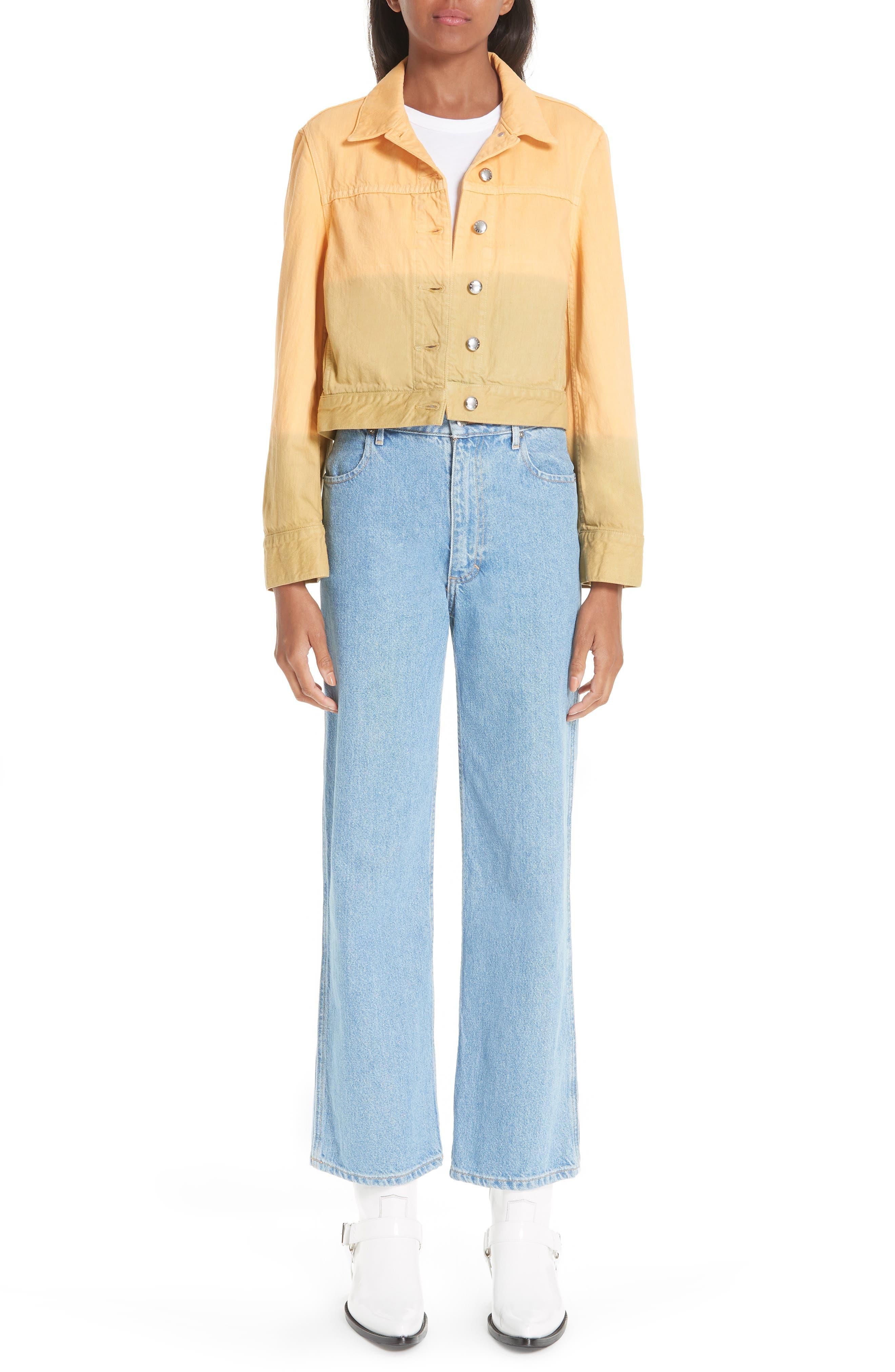 EL Wide Leg Jeans,                             Alternate thumbnail 7, color,                             400