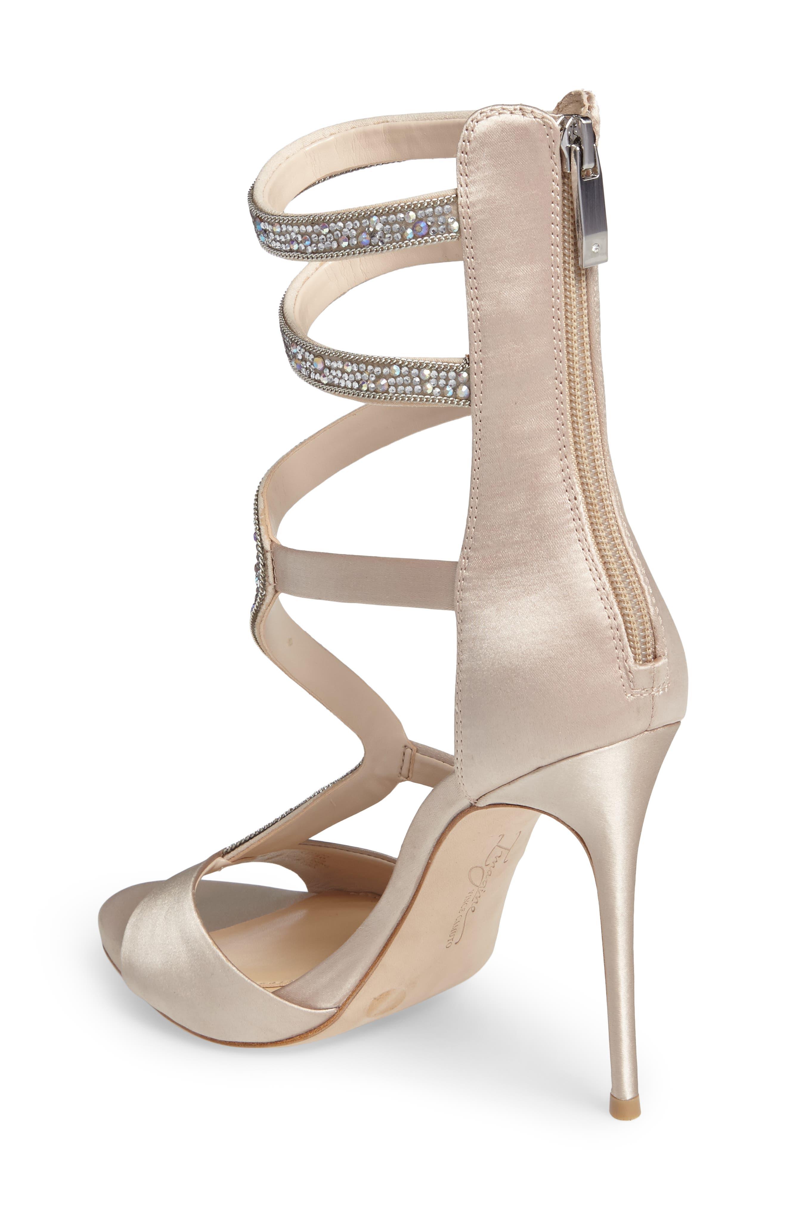 Imagine Vince Camuto Dafny Embellished Sandal,                             Alternate thumbnail 6, color,