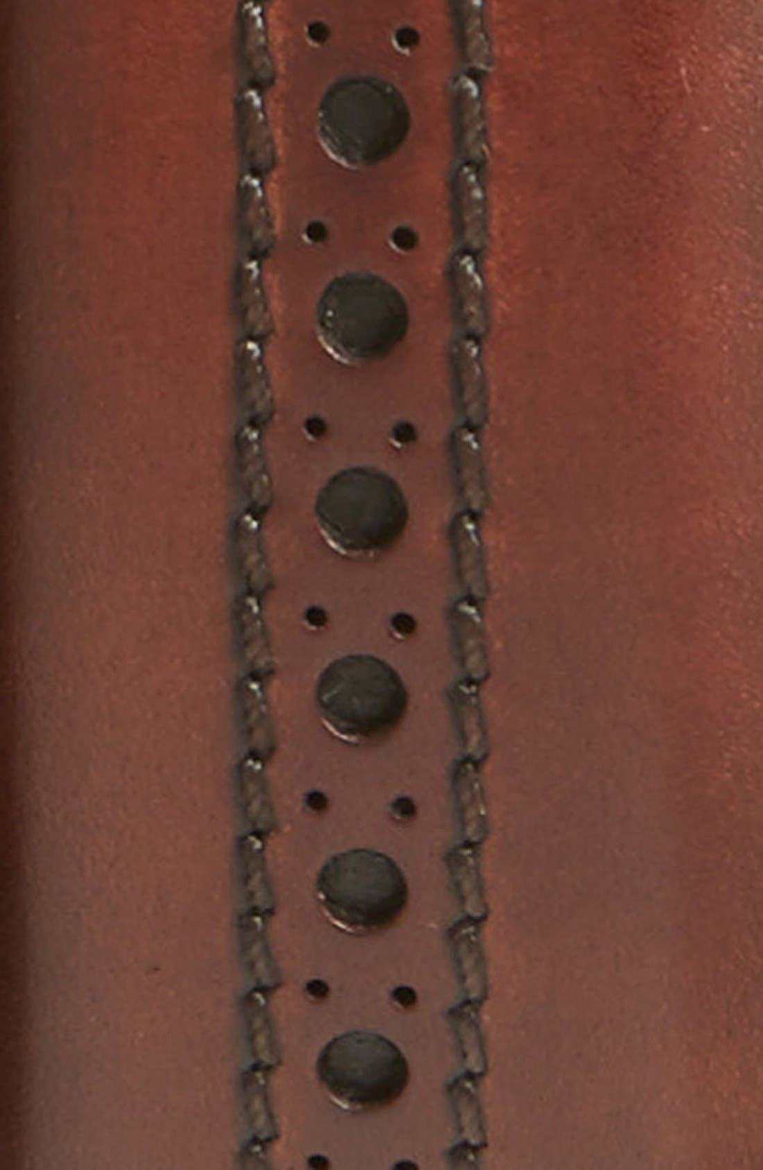 'Guodi' Leather Belt,                             Alternate thumbnail 2, color,