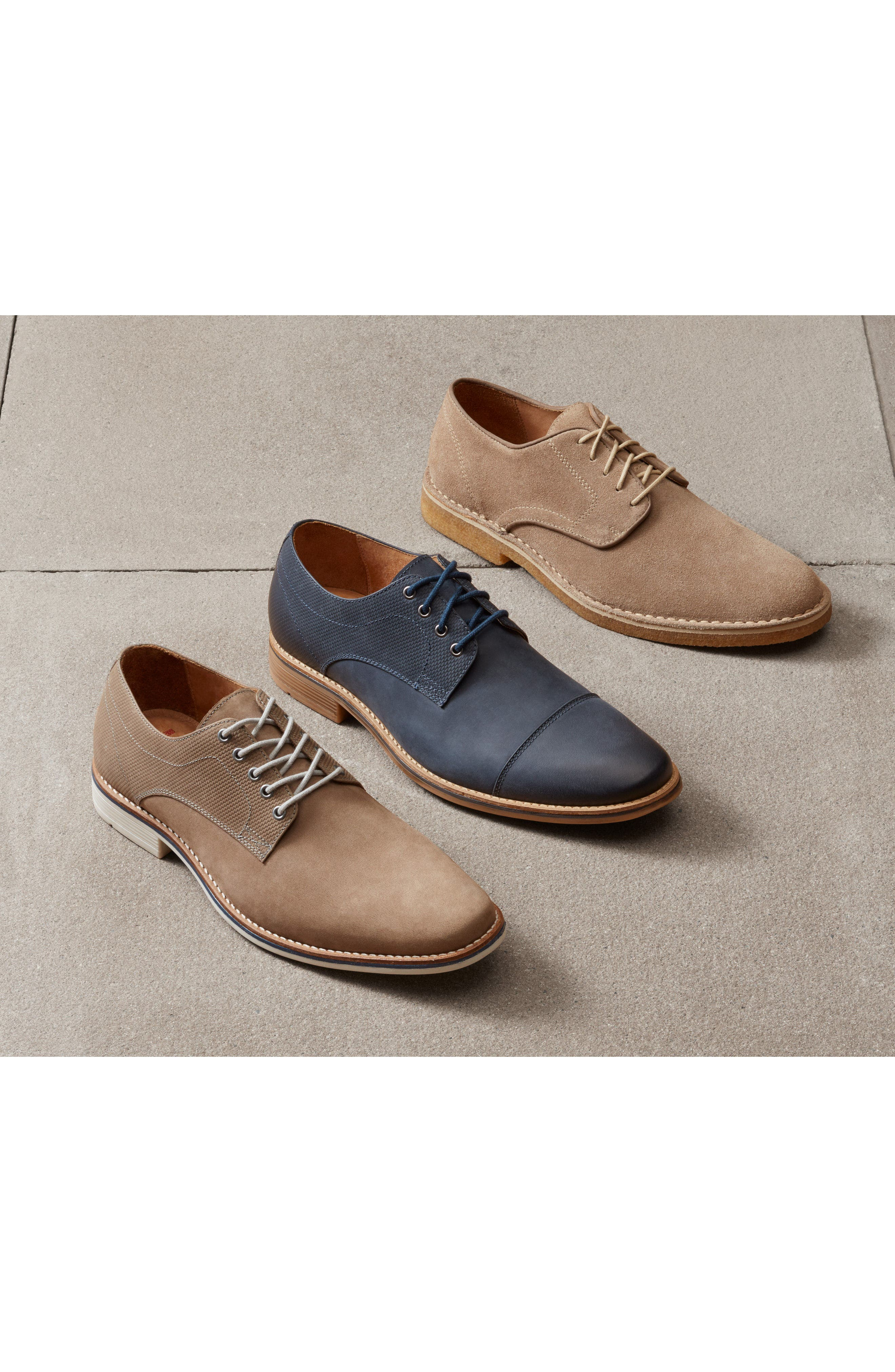 Crescent Buck Shoe,                             Alternate thumbnail 7, color,                             TAN SUEDE