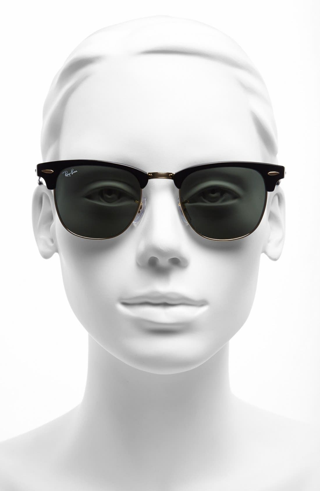 'Clubmaster' 49mm Sunglasses,                             Alternate thumbnail 8, color,