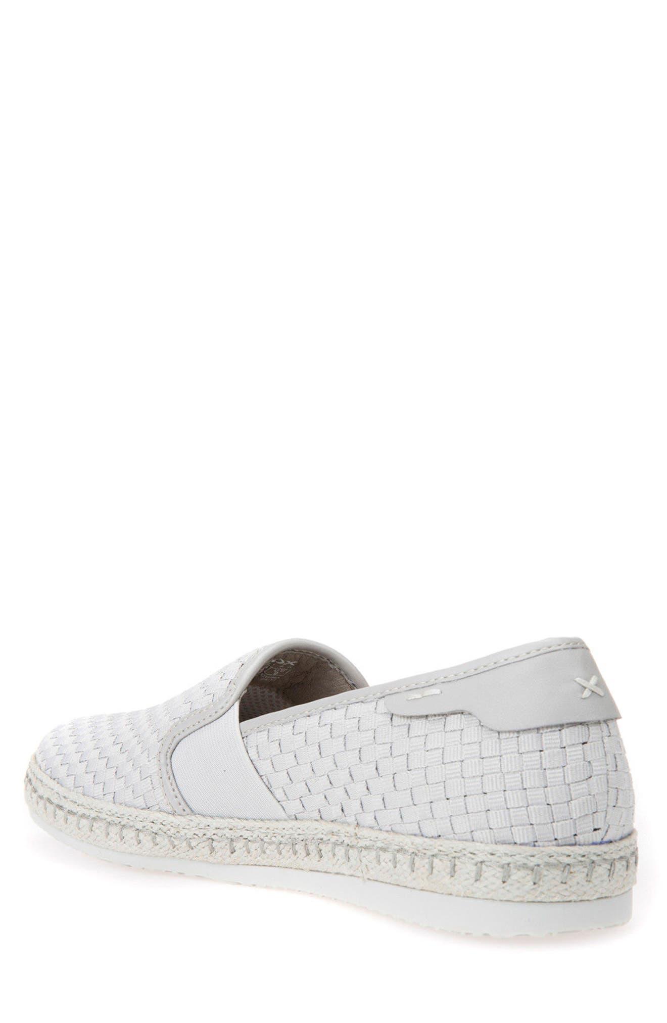 Copacaban 10 Woven Slip-On Sneaker,                             Alternate thumbnail 2, color,                             050