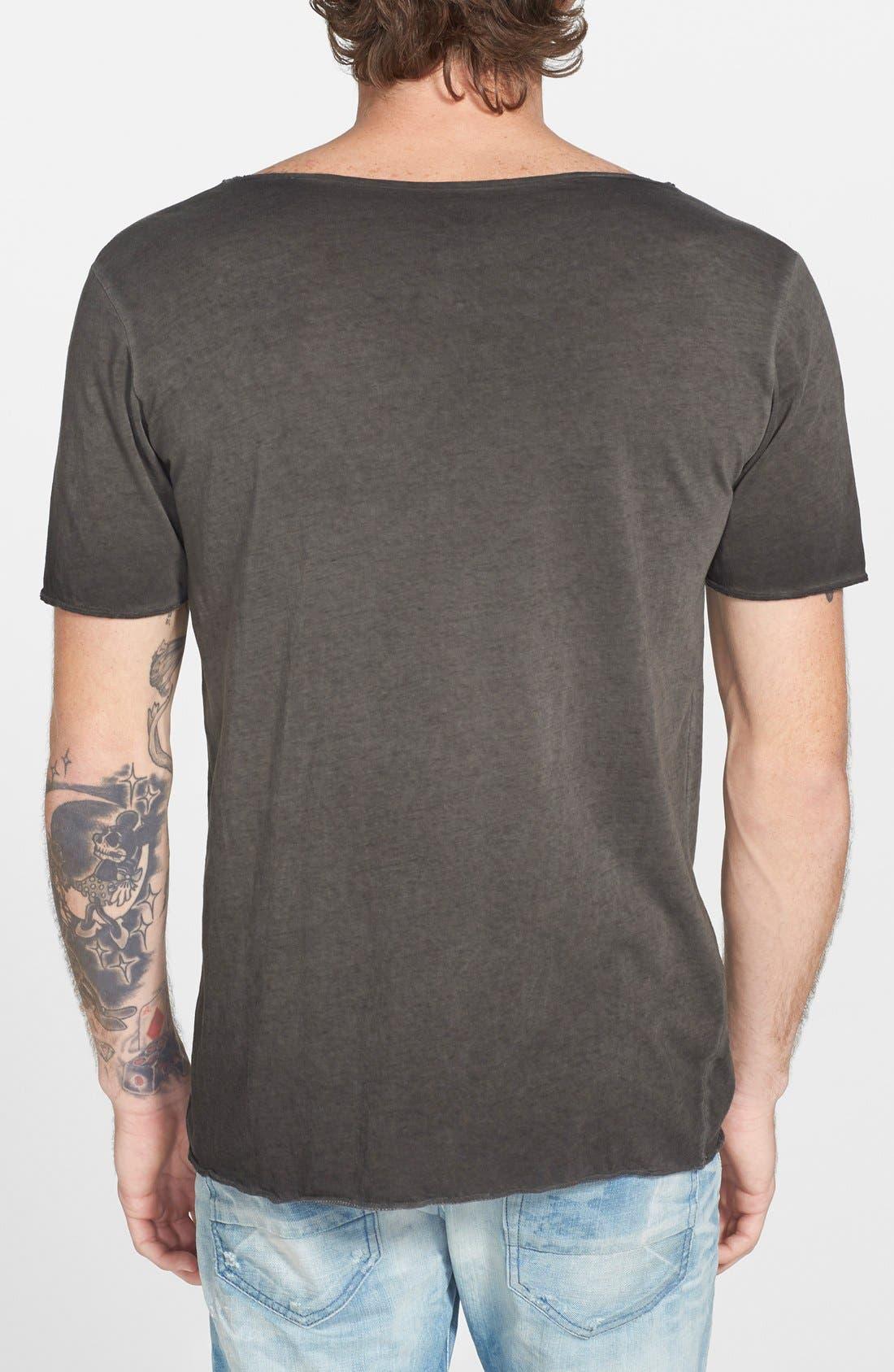 URBAN CAMO BRIGADE,                             Wide V-Neck T-Shirt,                             Alternate thumbnail 3, color,                             001