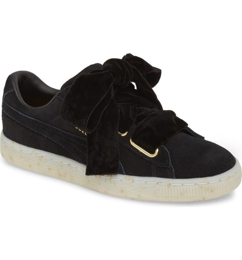 06be7768b9e PUMA Suede - Heart Sneaker (Women)
