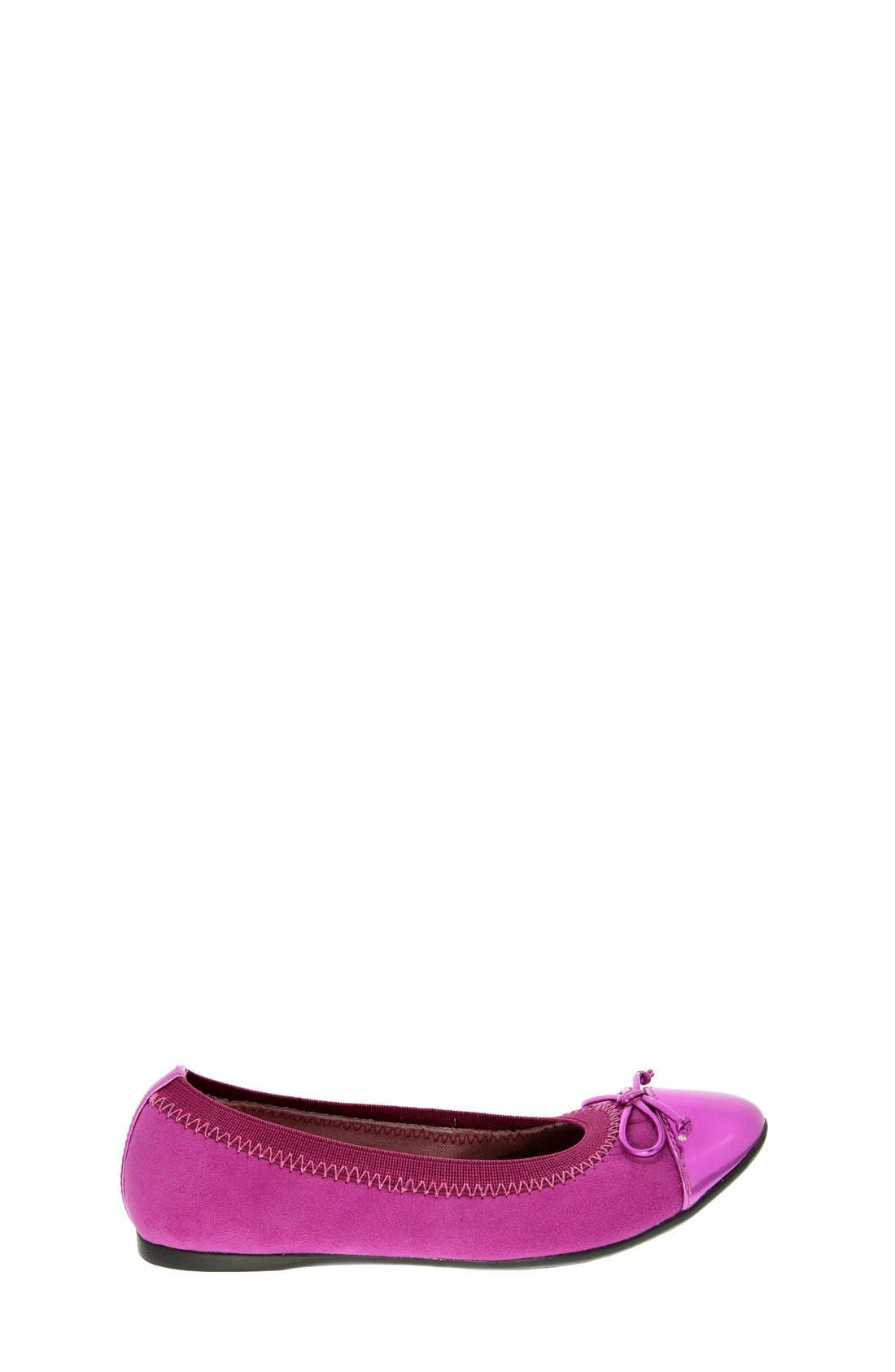 'Flower' Ballerina Flat,                             Alternate thumbnail 3, color,                             693