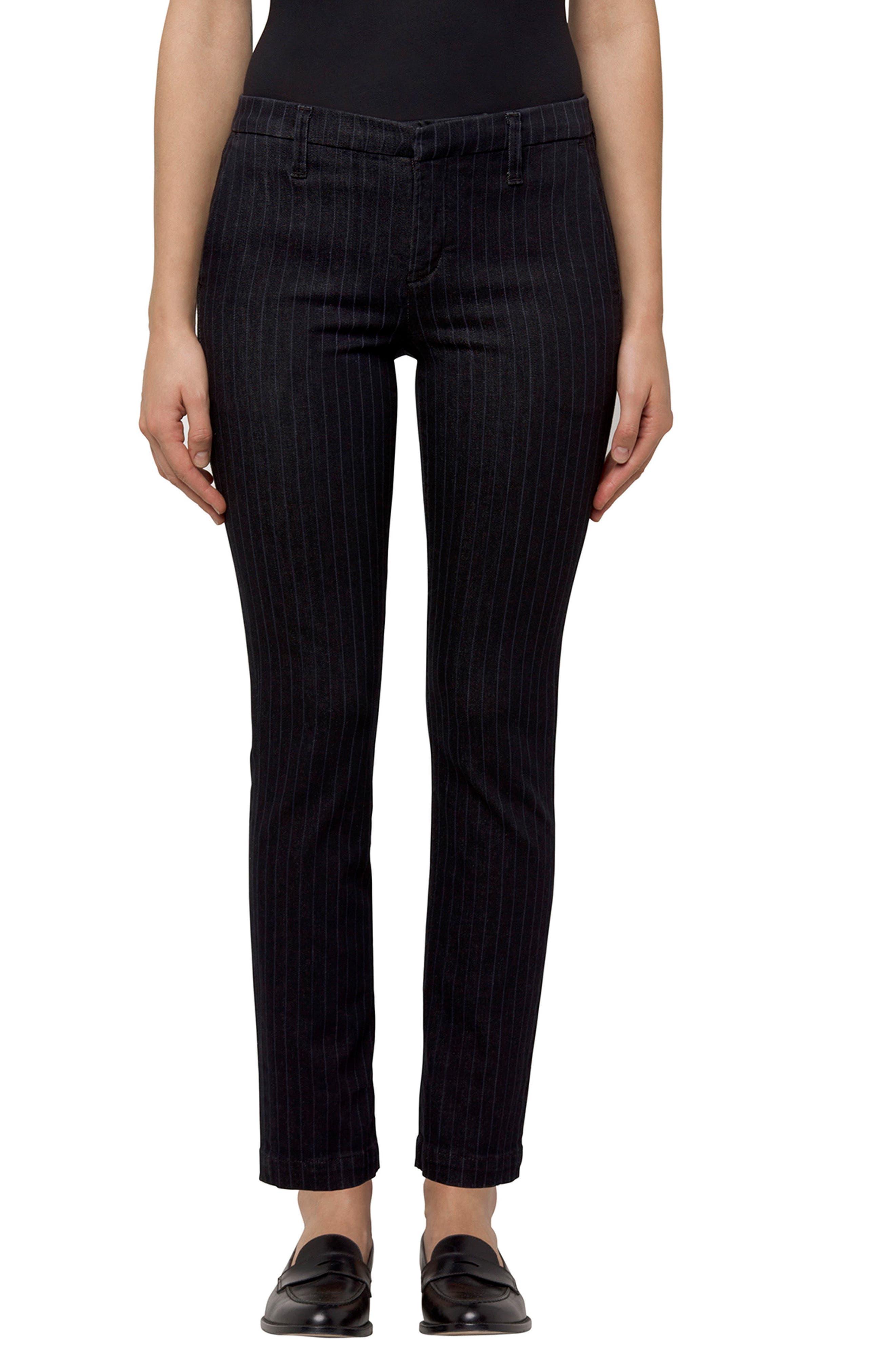 Clara Stripe Ankle Trousers,                             Main thumbnail 1, color,                             464