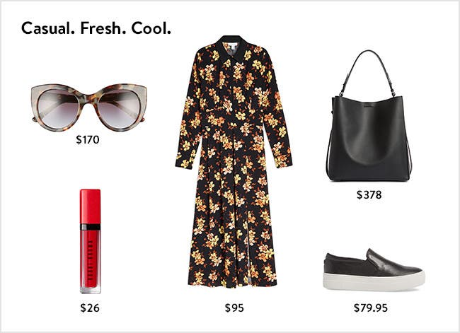 Casual. Fresh. Cool. Women's clothing, shoes, handbags, sunglasses and more.