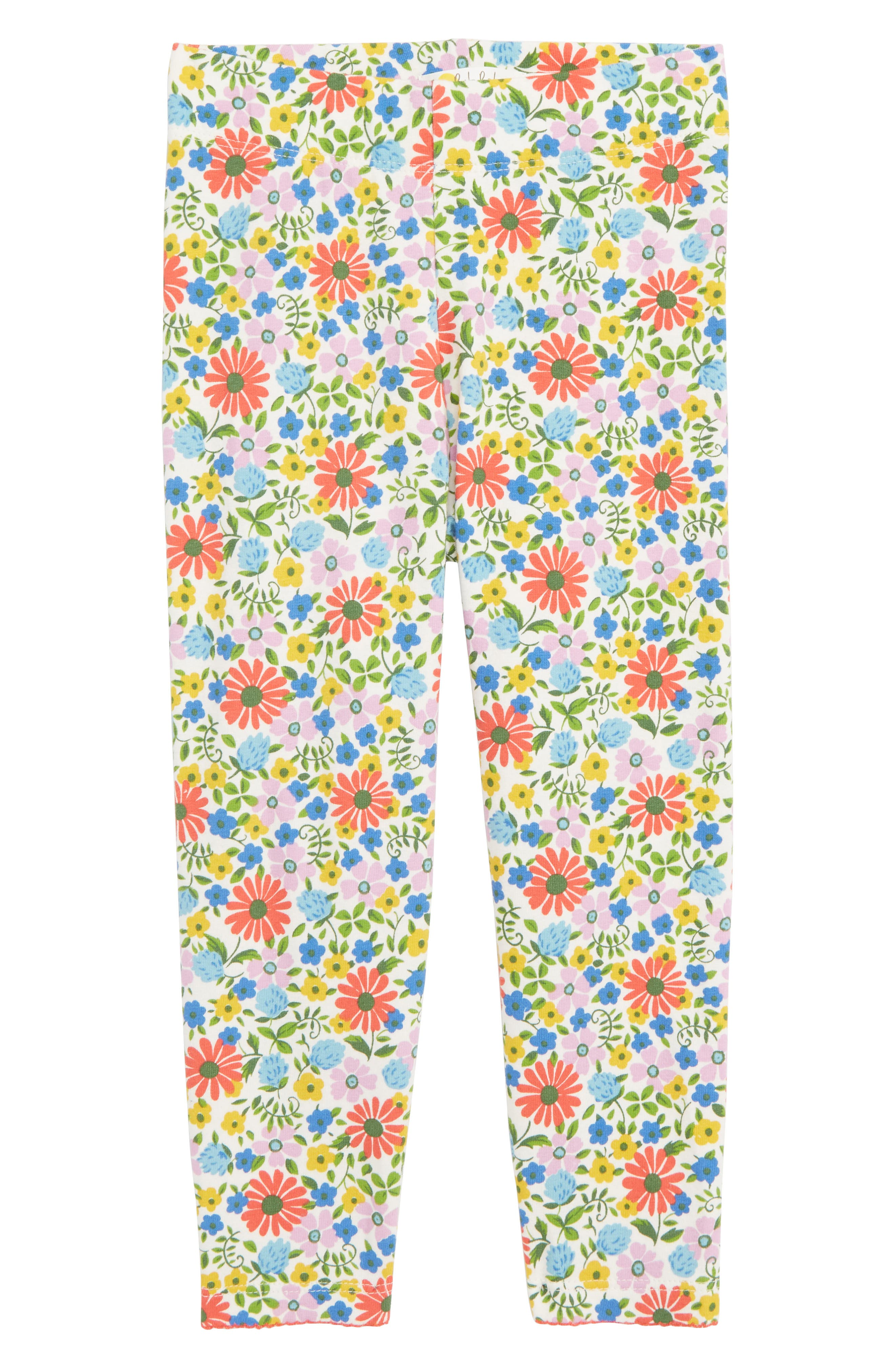 MINI BODEN,                             Floral Print Leggings,                             Main thumbnail 1, color,                             MUL MULTI JOLLY FLORAL