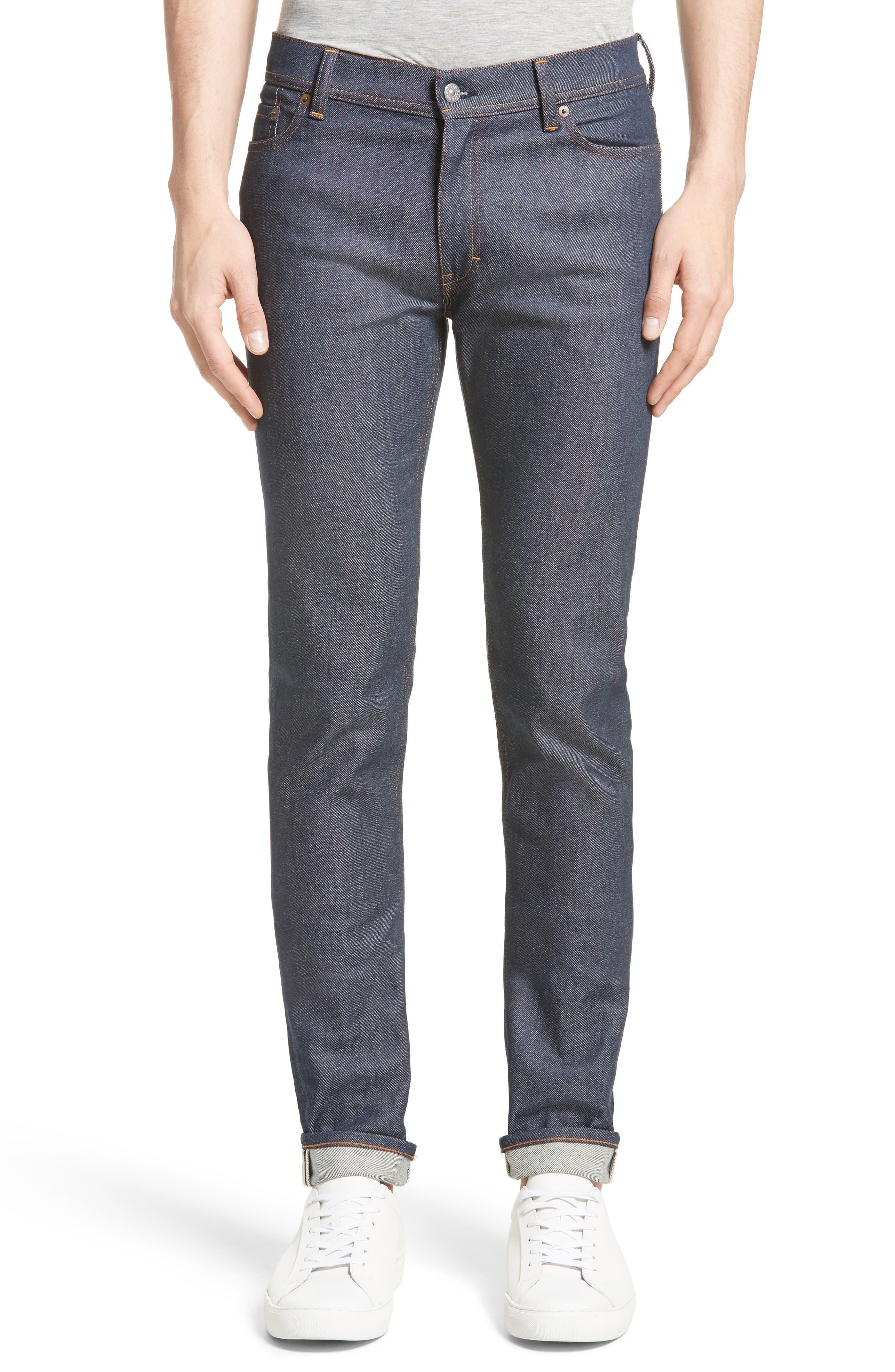 North Skinny Jeans,                         Main,                         color, INDIGO