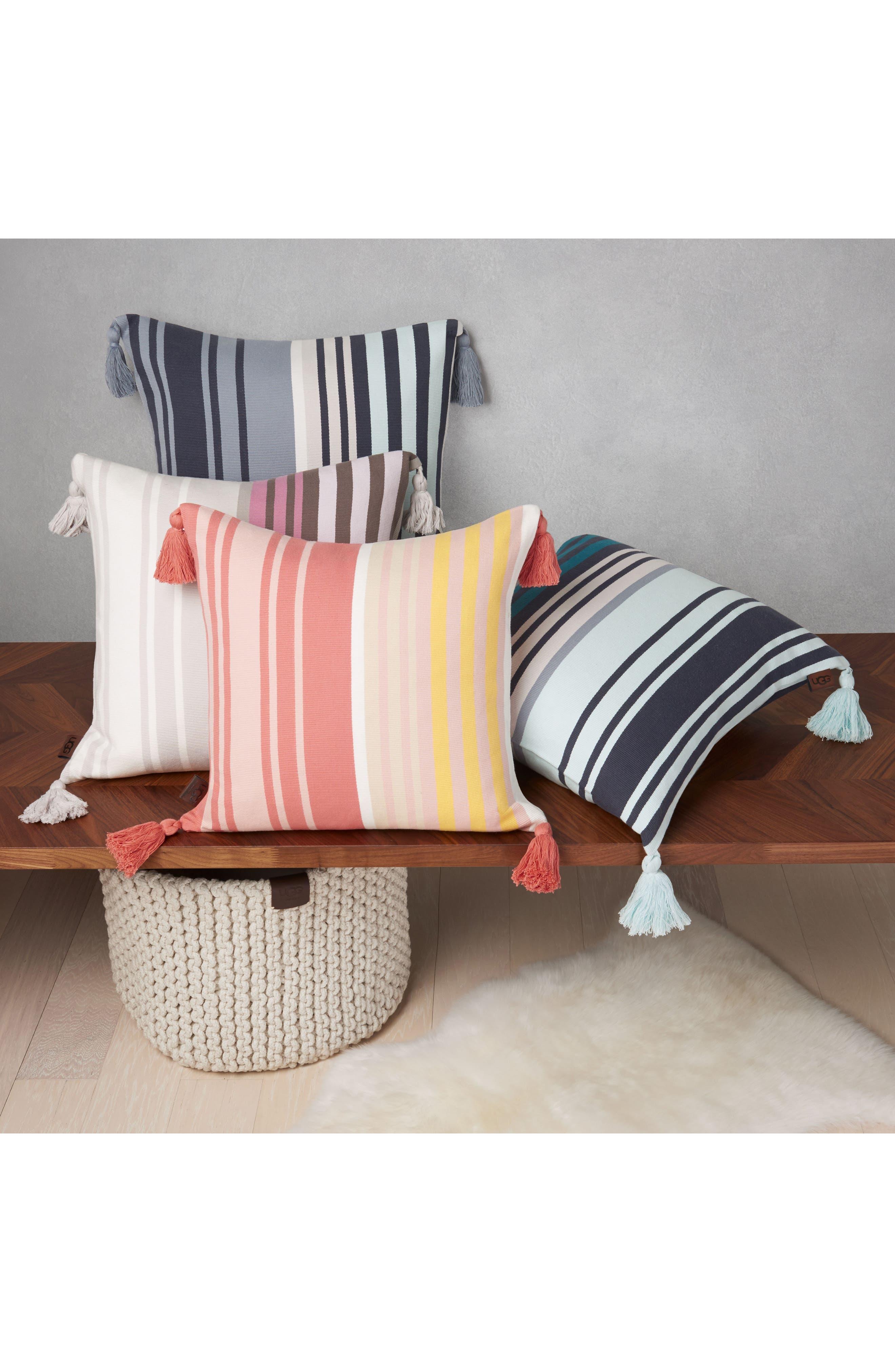 Hammond Stripe Pillow,                             Alternate thumbnail 2, color,                             400