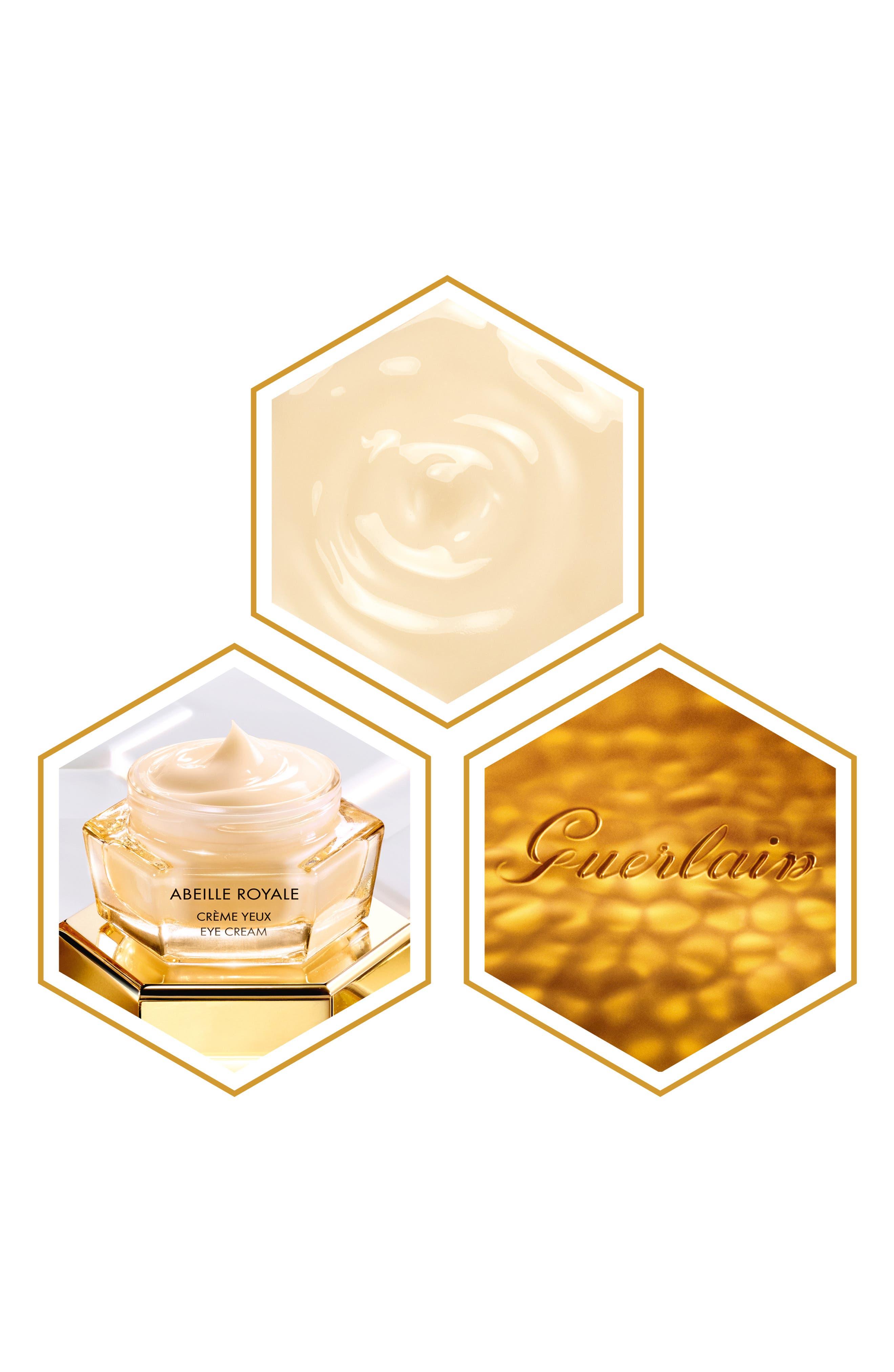 GUERLAIN,                             Abeille Royale Replenishing Eye Cream,                             Alternate thumbnail 3, color,                             NO COLOR
