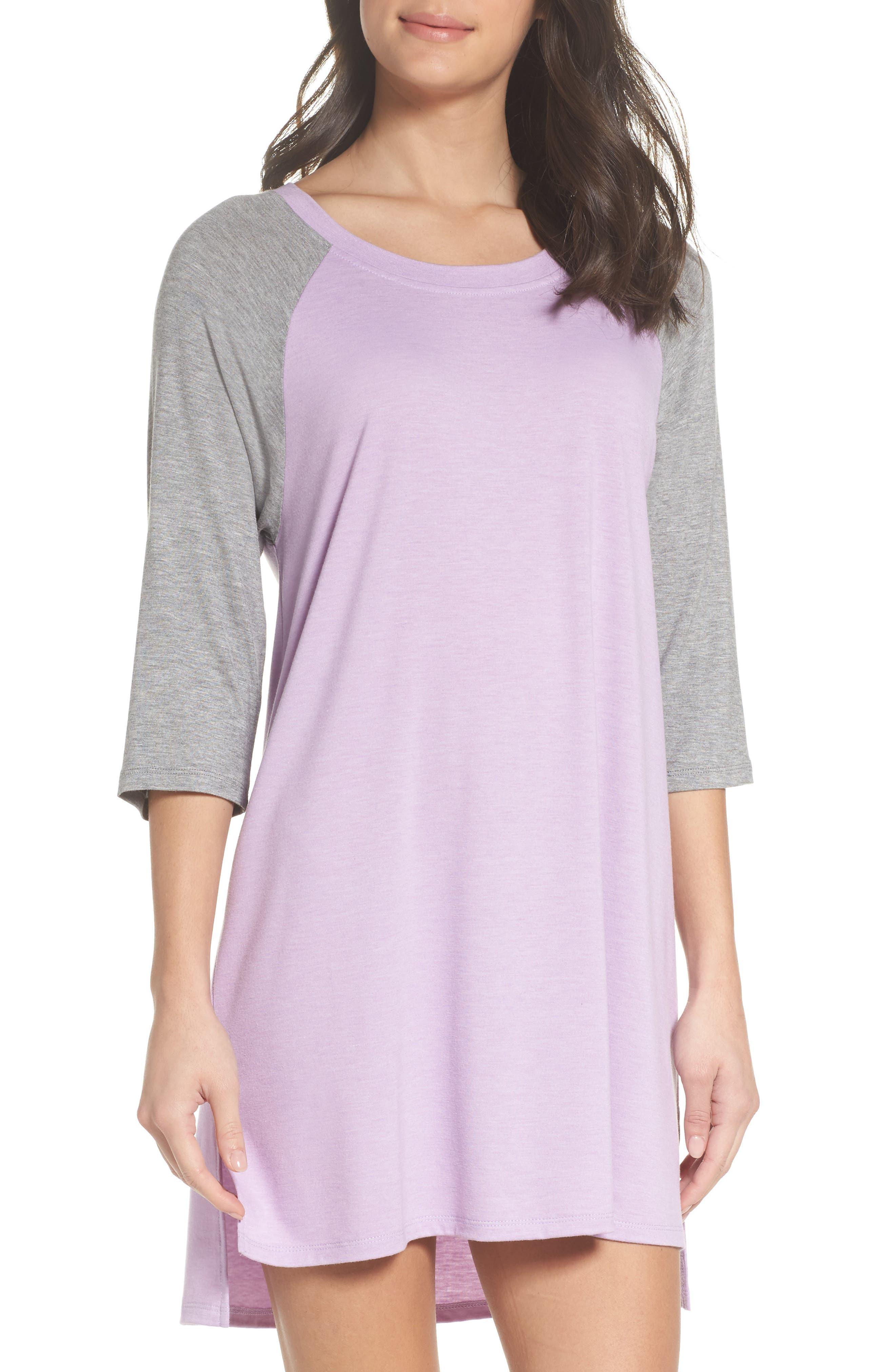 Honeydew All American Sleep Shirt,                             Main thumbnail 6, color,
