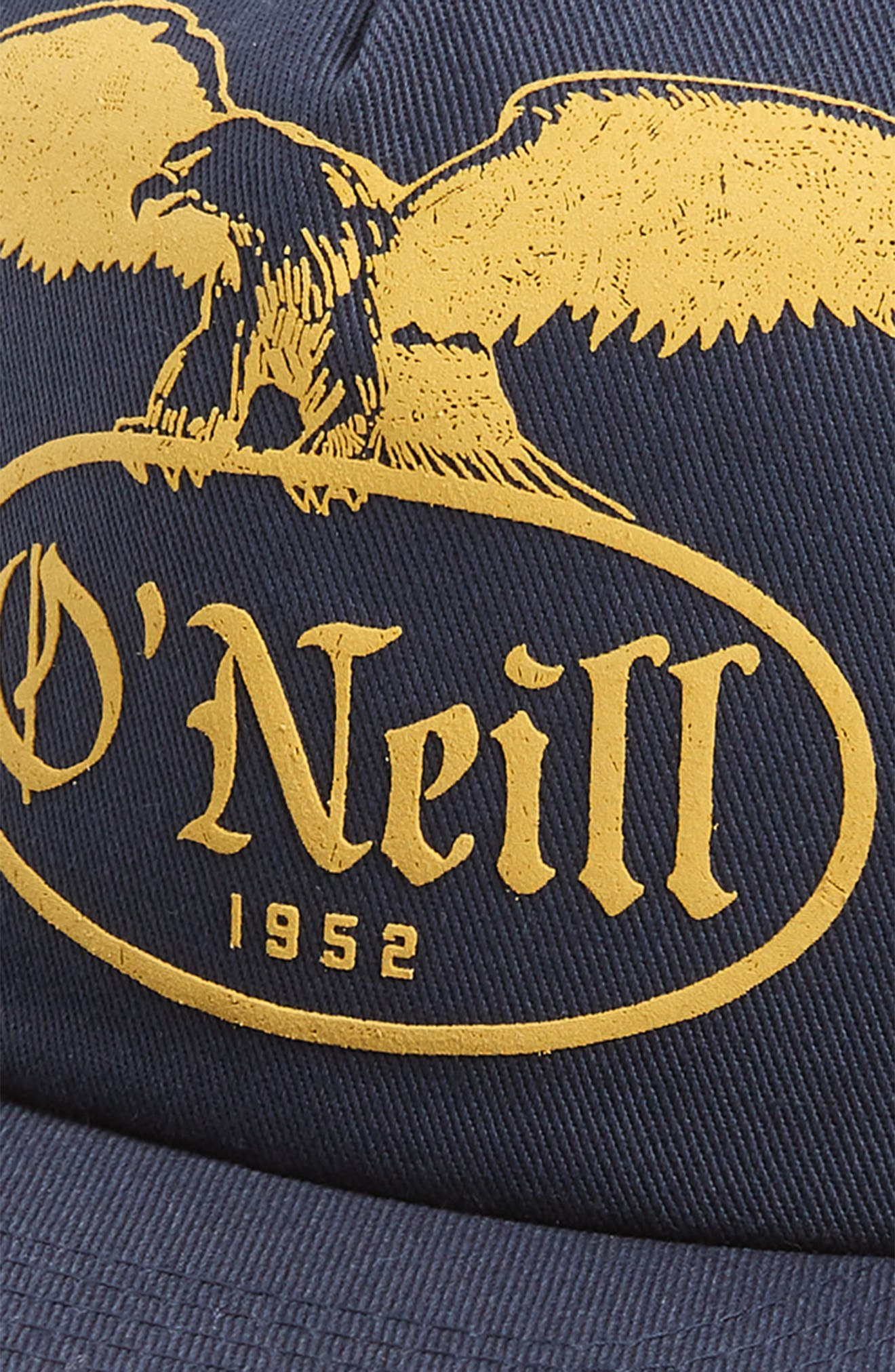 Puffie Logo Baseball Cap,                             Alternate thumbnail 3, color,                             NAVY
