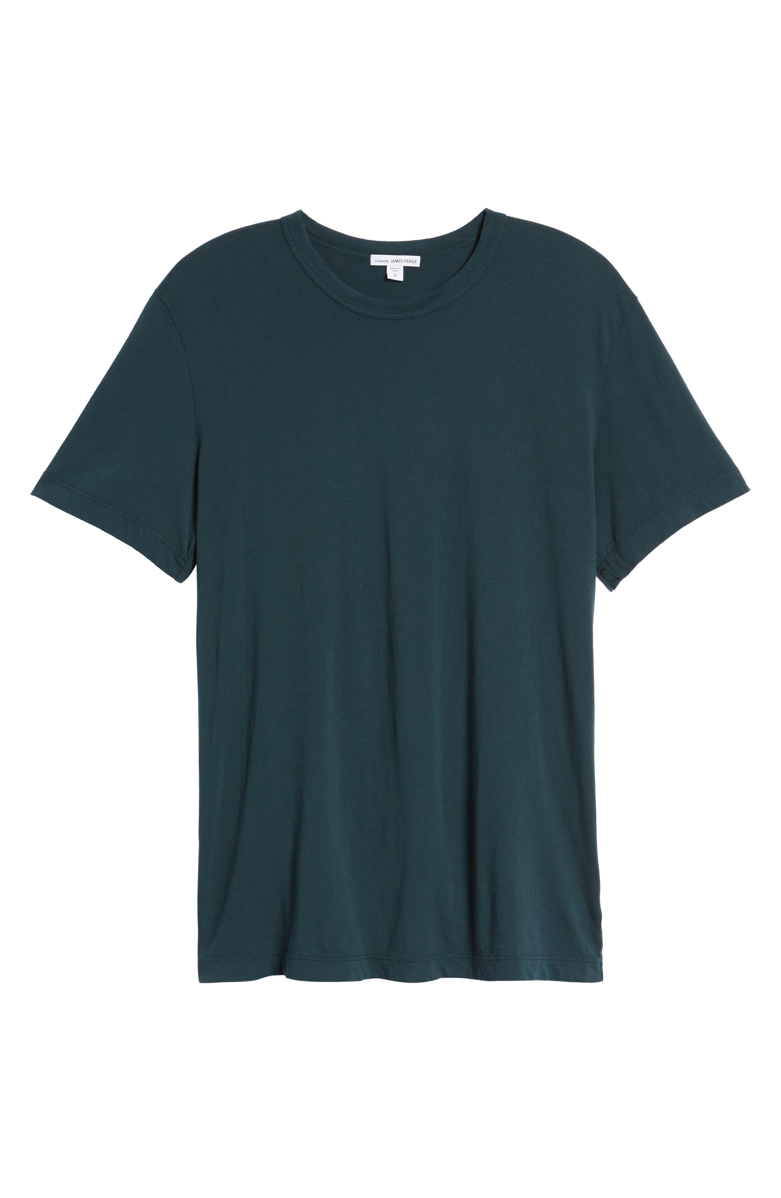 Crewneck Jersey T-Shirt,                             Alternate thumbnail 464, color,