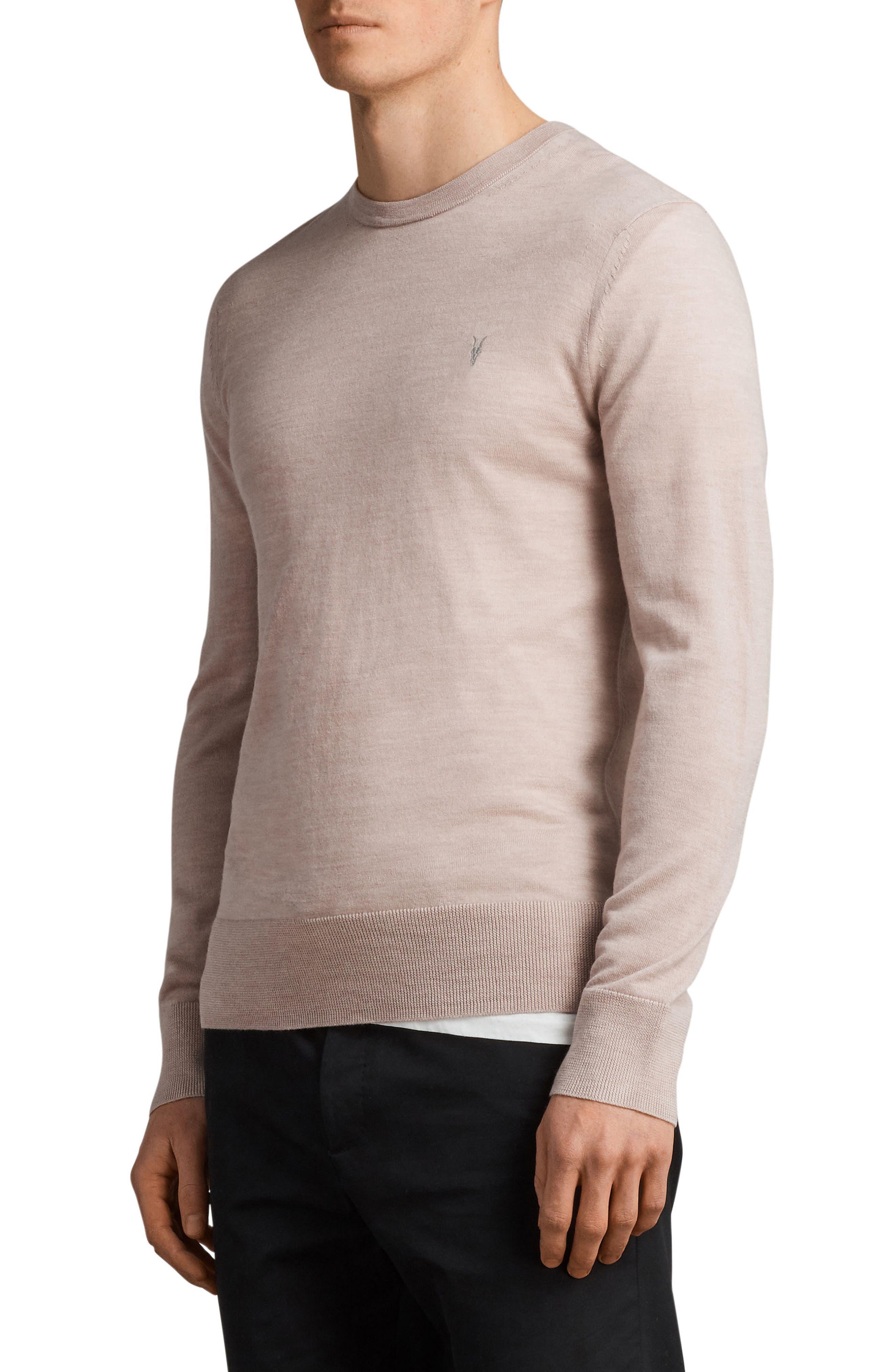 Mode Slim Fit Merino Wool Sweater,                             Alternate thumbnail 21, color,