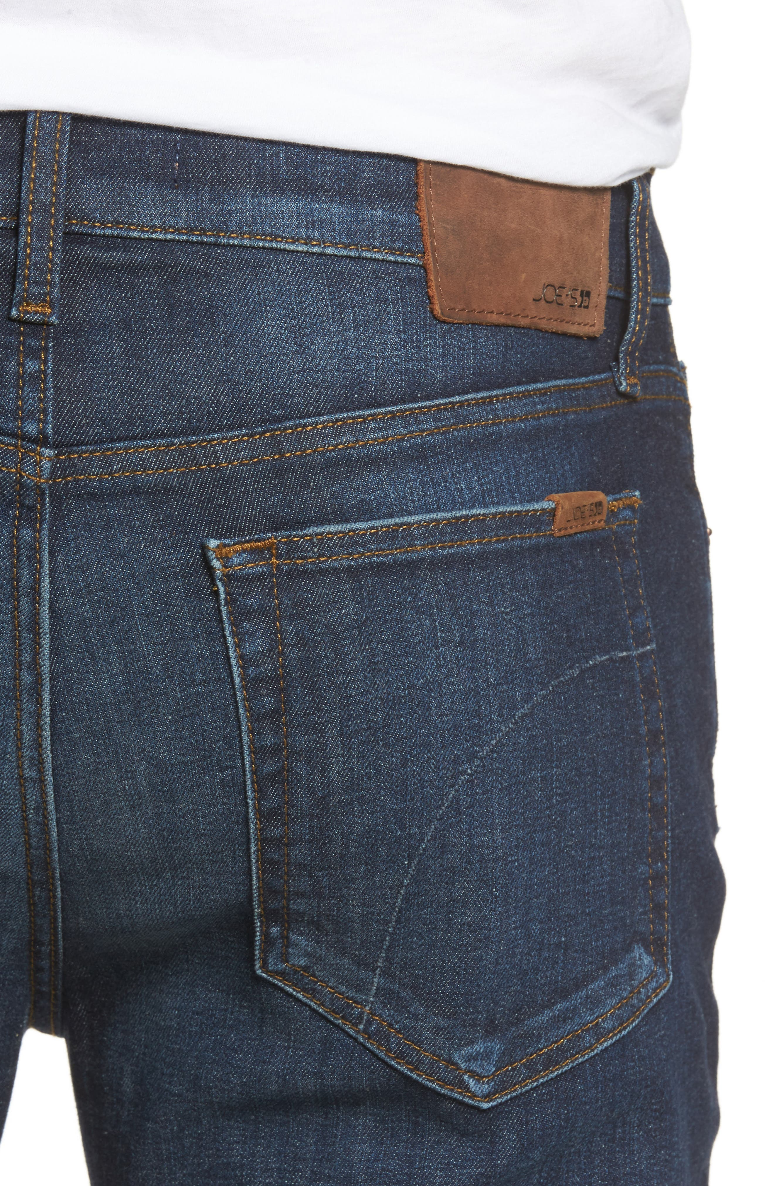 Classic Straight Leg Jeans,                             Alternate thumbnail 4, color,                             439