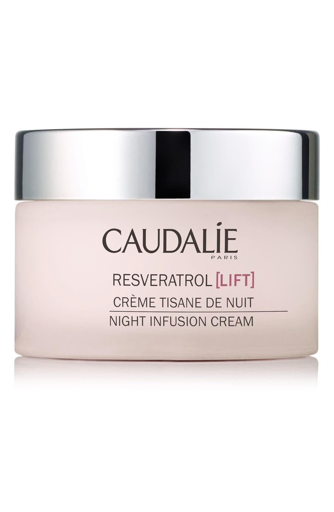 Resveratrol Lift Night Infusion Cream,                         Main,                         color, NO COLOR