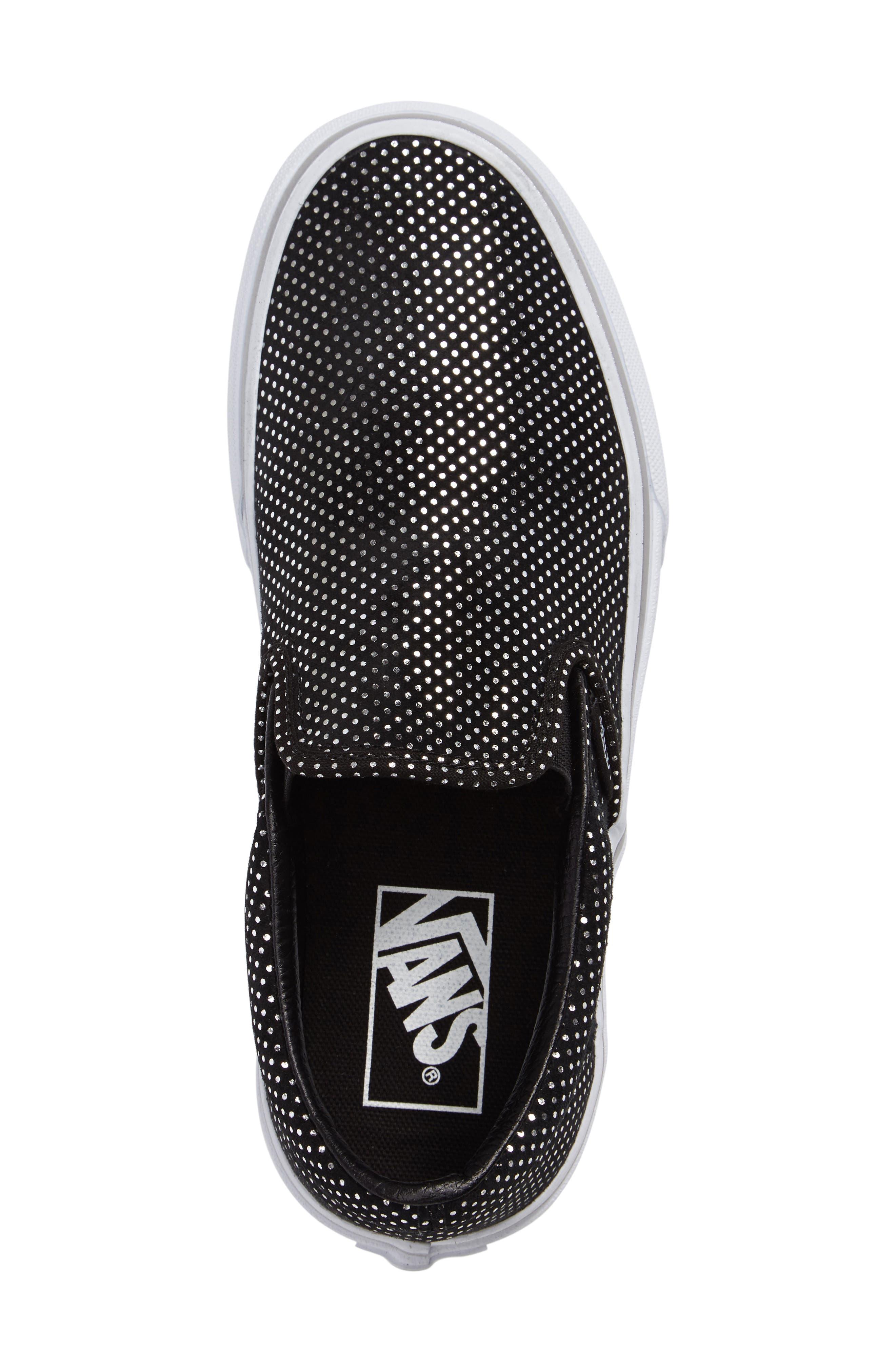 Classic Slip-On Sneaker,                             Alternate thumbnail 3, color,                             004
