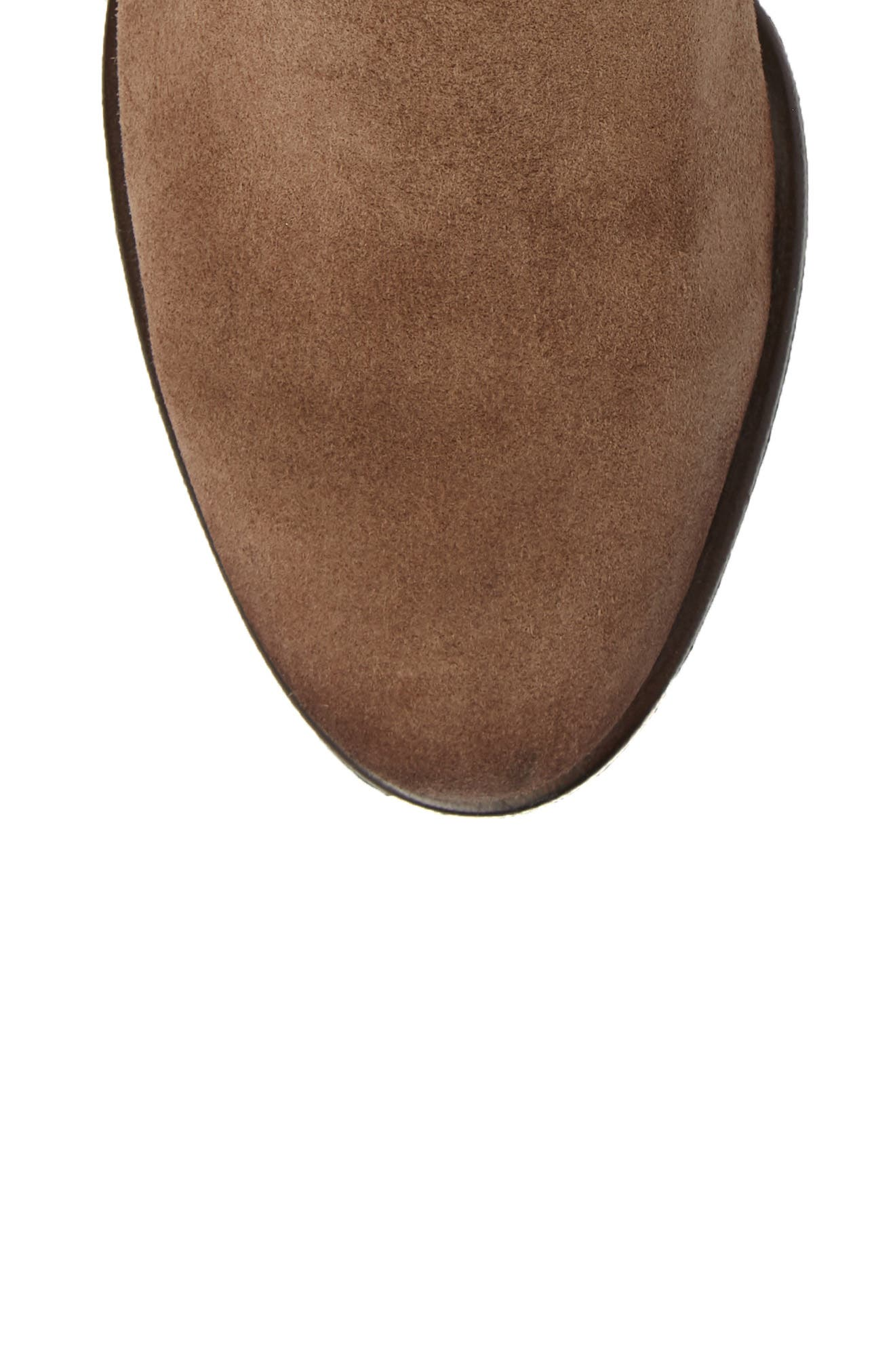 Baqueira Belted Bootie,                             Alternate thumbnail 5, color,                             STONE SUEDE