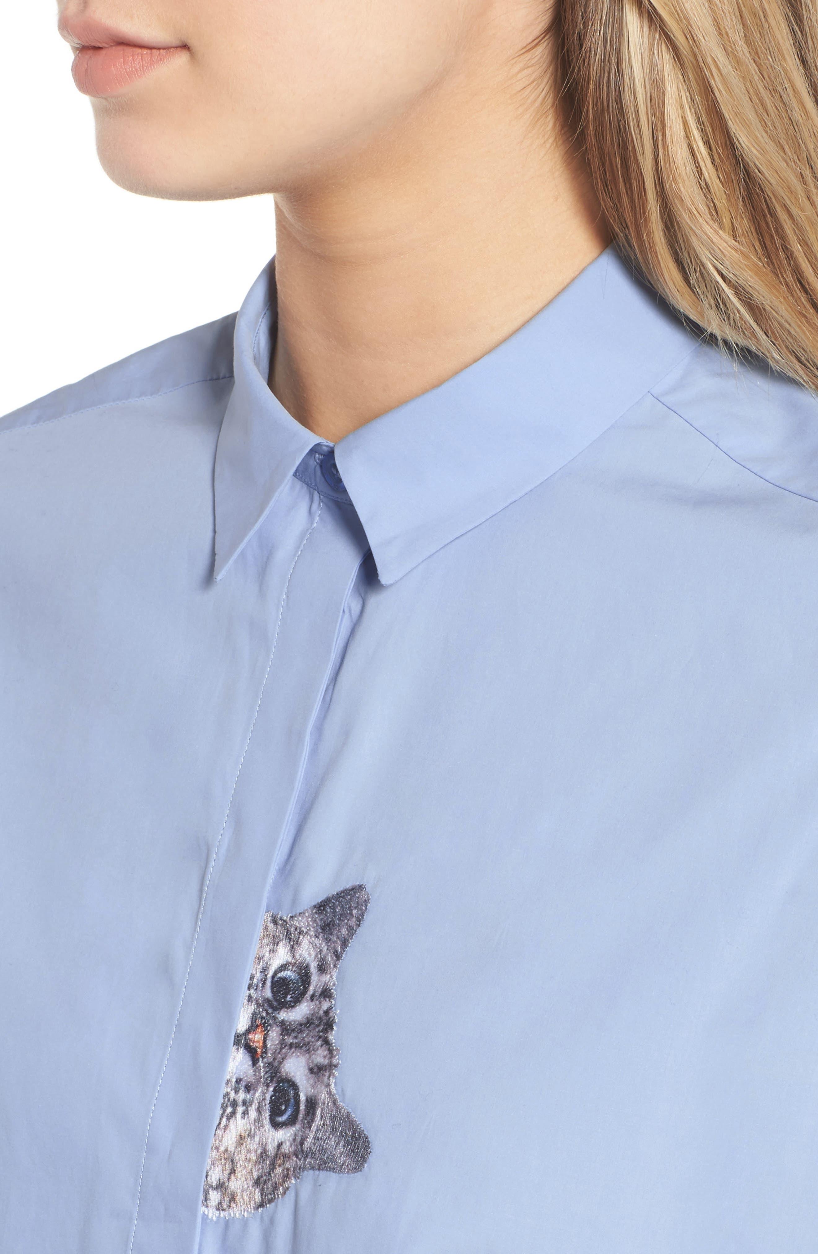 Leonide Shirt,                             Alternate thumbnail 4, color,                             400