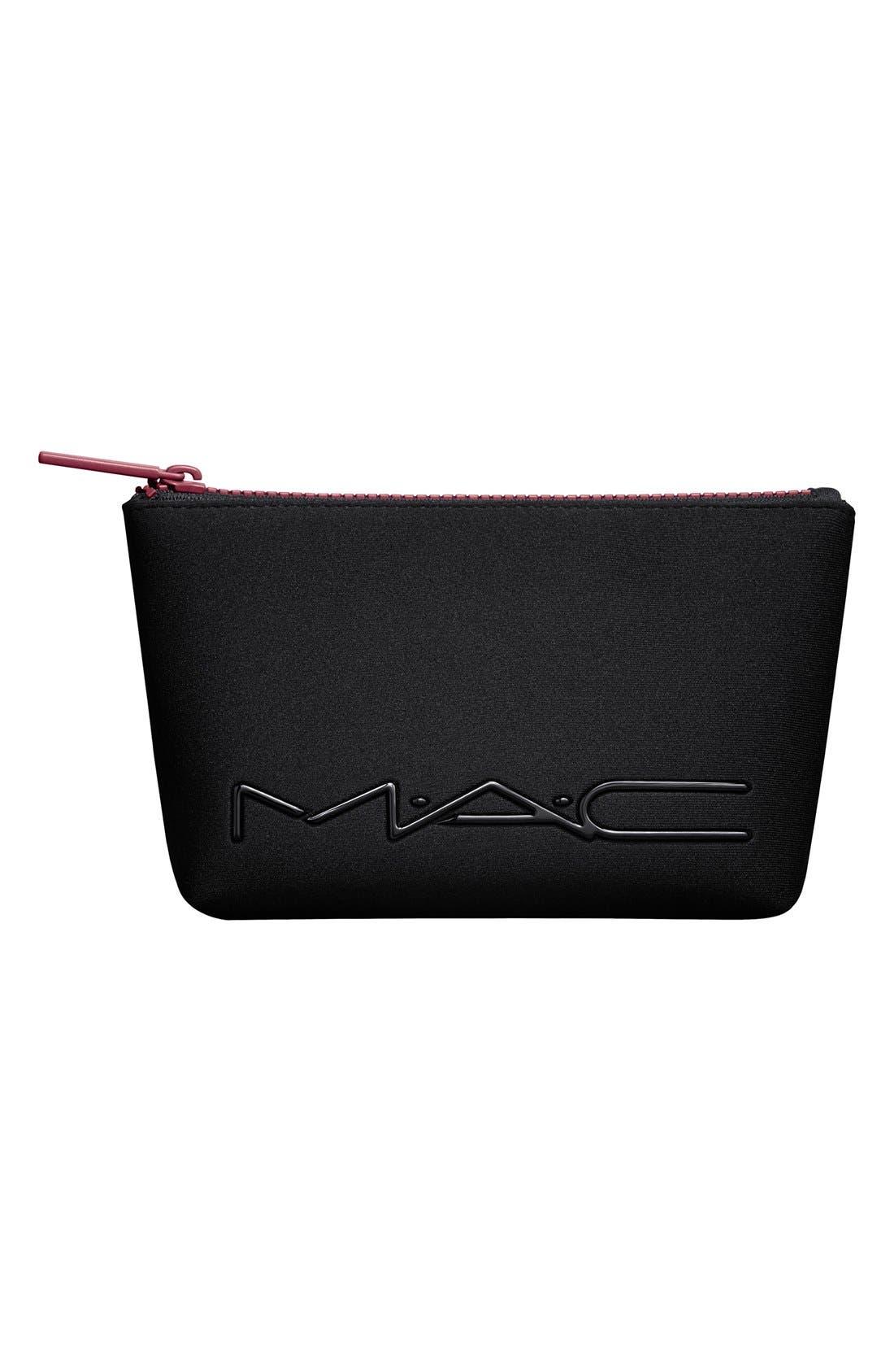 MAC 'Look in a Box - Sassy Siren' Burgundy Lip & Eye Kit,                             Alternate thumbnail 4, color,                             000