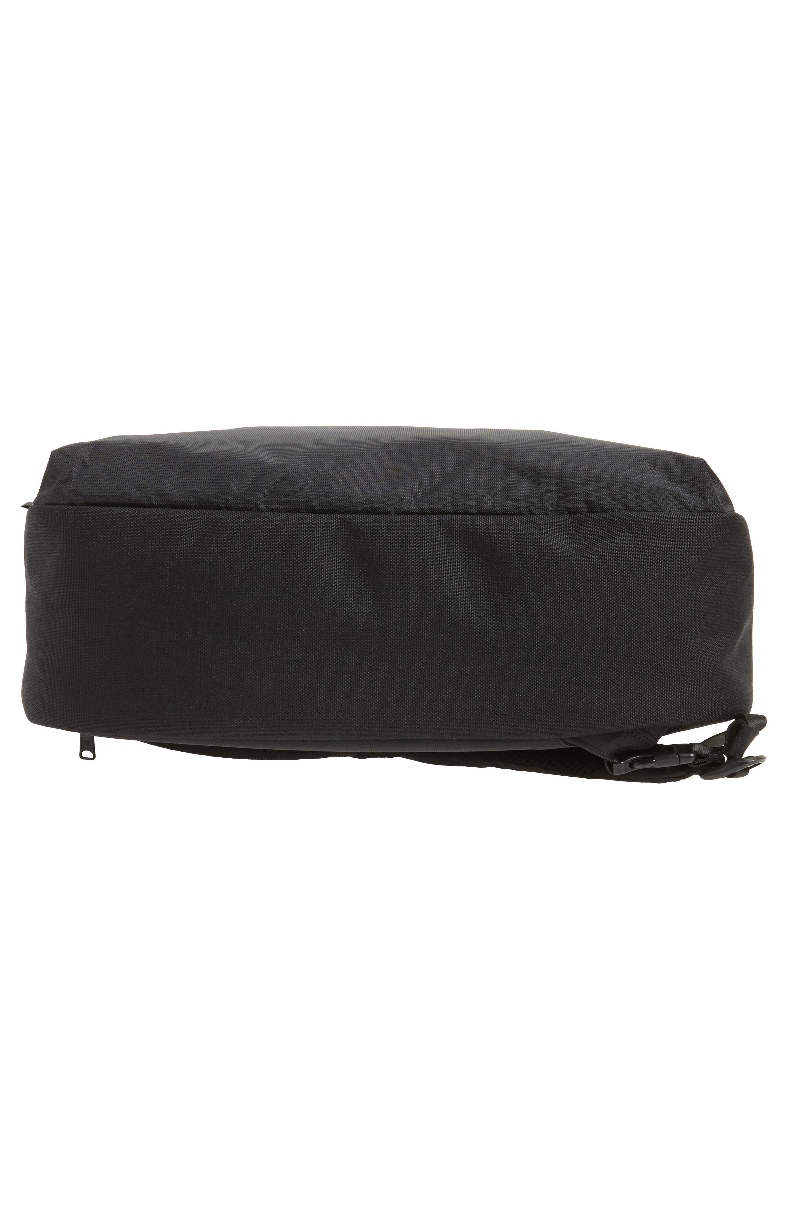 Britannia Convertible Messenger Bag,                             Alternate thumbnail 6, color,                             BLACK