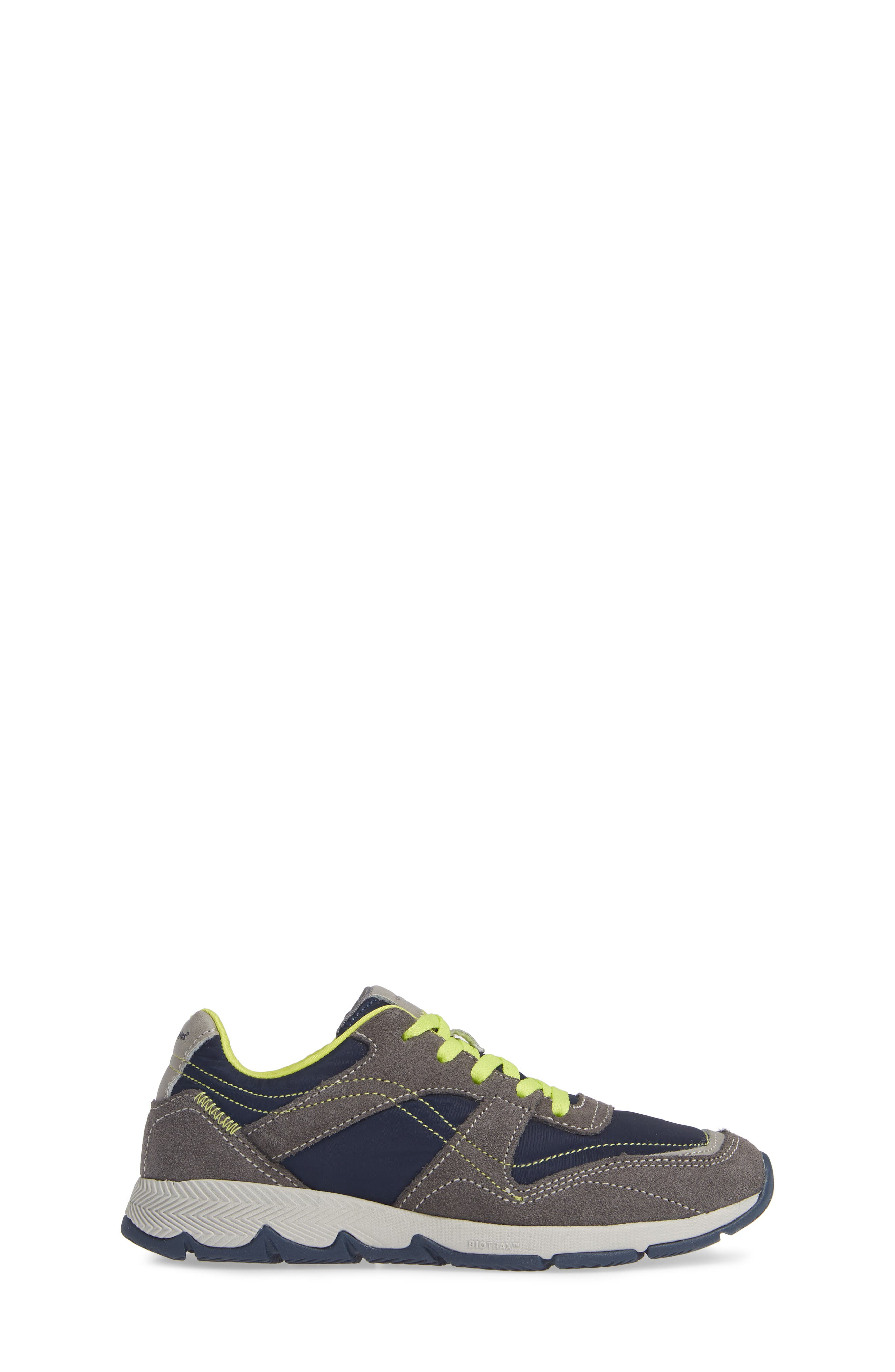 Zev TS Field Sneaker,                             Alternate thumbnail 3, color,                             GREY/ NAVY