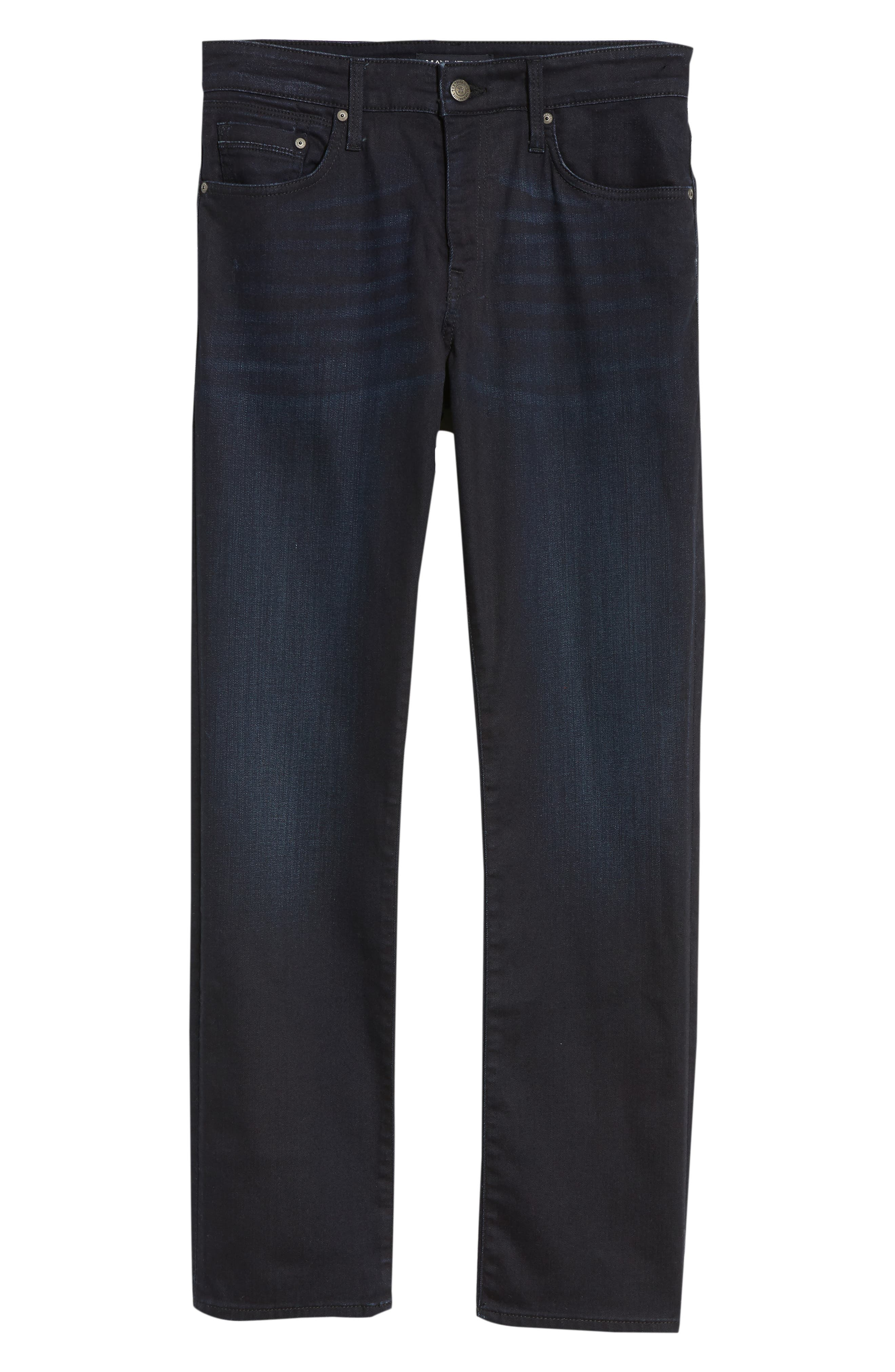 Matt Relaxed Fit Jeans,                             Alternate thumbnail 6, color,                             DEEP CAPITOL HILL