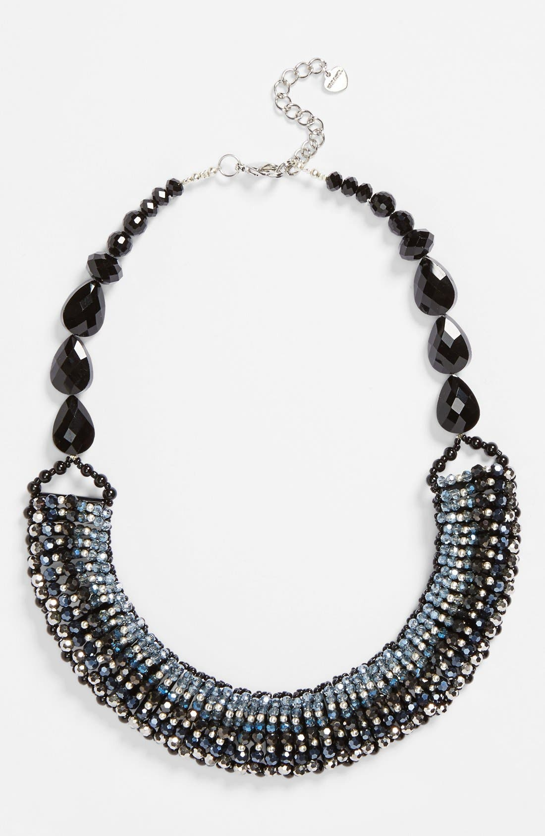 'Half Line Couture' Collar Necklace,                             Main thumbnail 2, color,