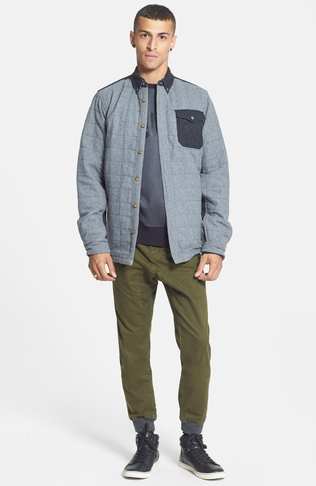 'Mystic' Dryride Ultrawick<sup>™</sup> Quilted Shirt Jacket,                             Alternate thumbnail 2, color,                             084