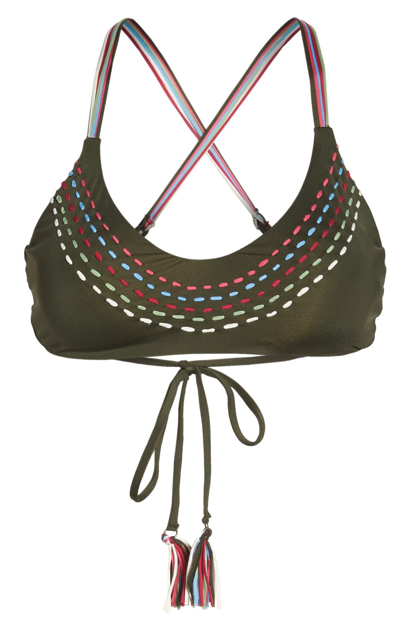 Quest Bikini Top,                             Alternate thumbnail 6, color,                             308