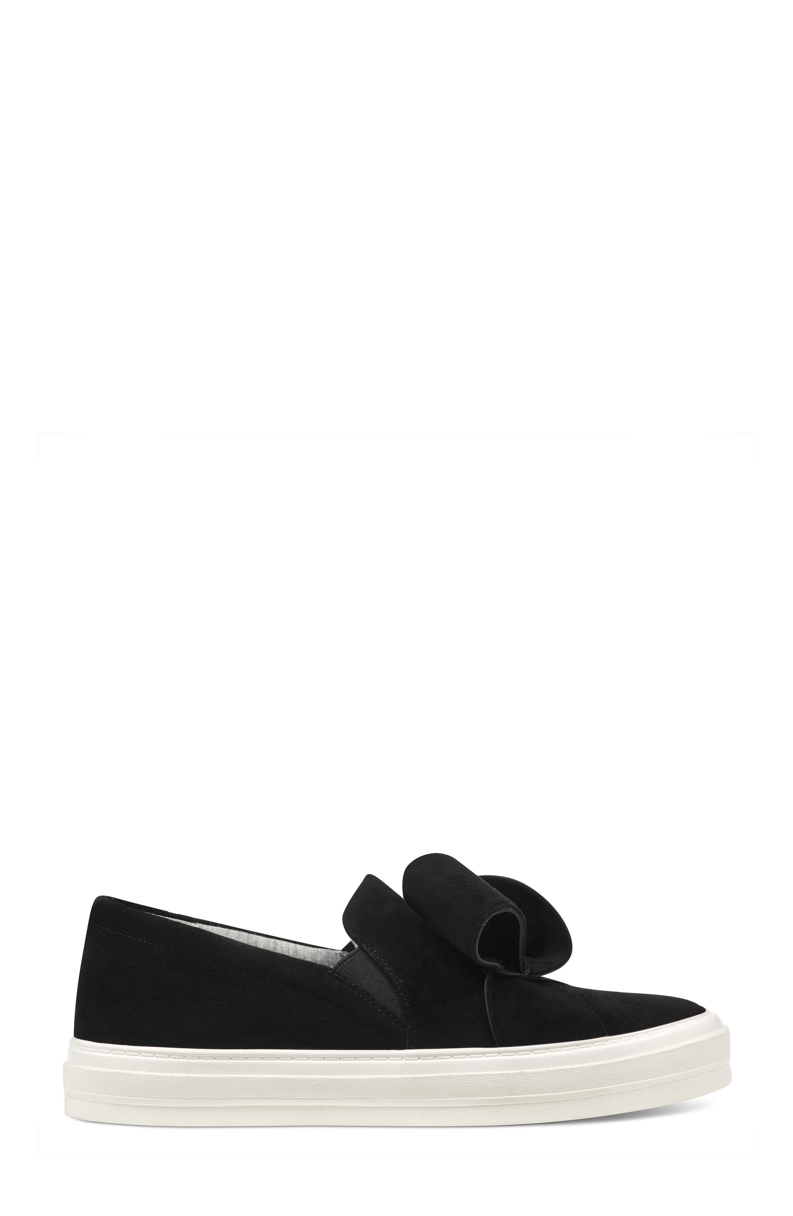 Odienella Slip-On Sneaker,                             Alternate thumbnail 3, color,                             BLACK MULTI SUEDE