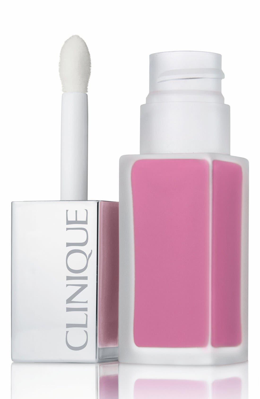 Pop Liquid Matte Lip Color + Primer,                             Main thumbnail 1, color,                             PETAL POP
