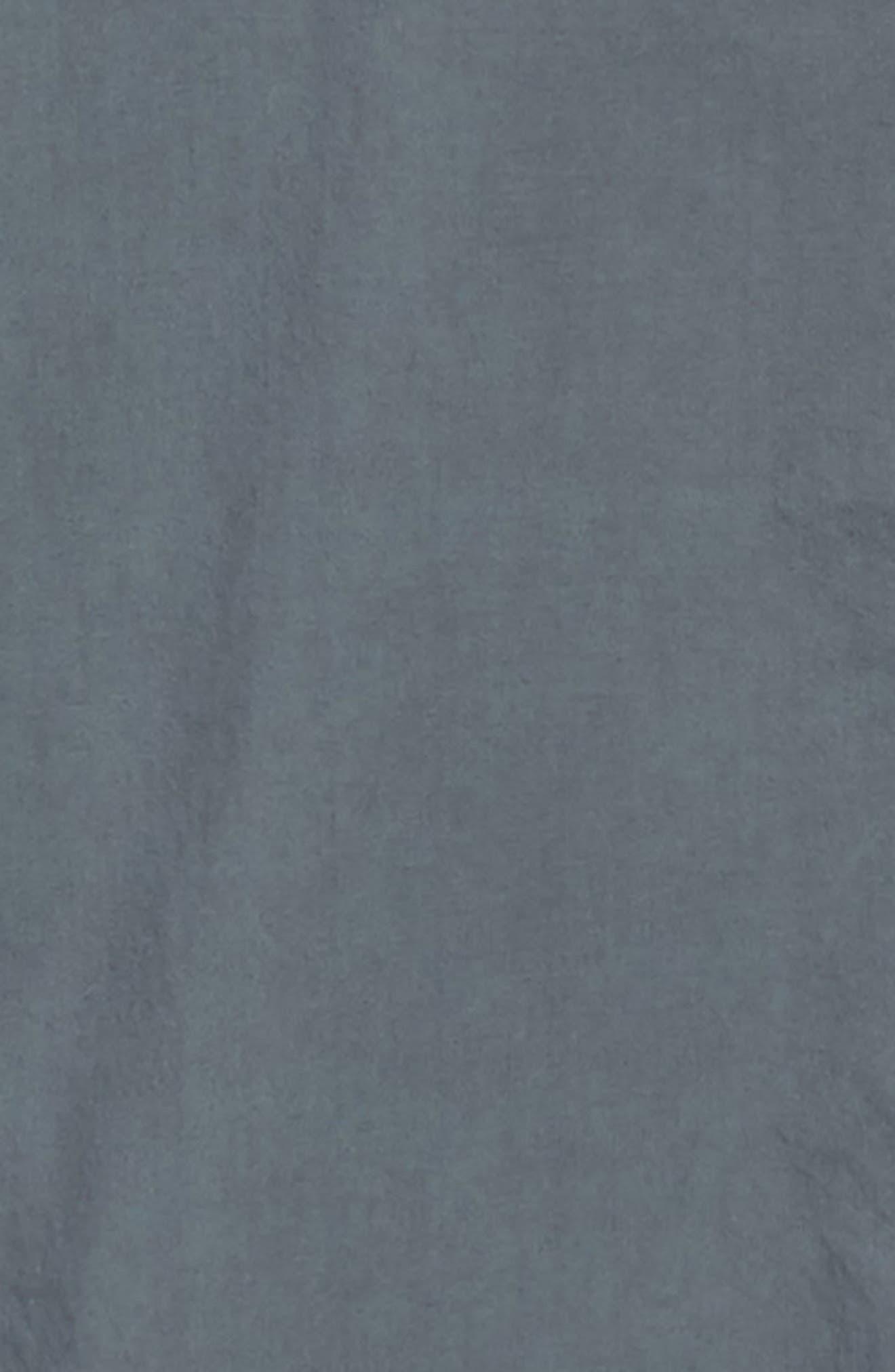 Overdyed Regular Fit Poplin Sport Shirt,                             Alternate thumbnail 6, color,                             RAF BLUE
