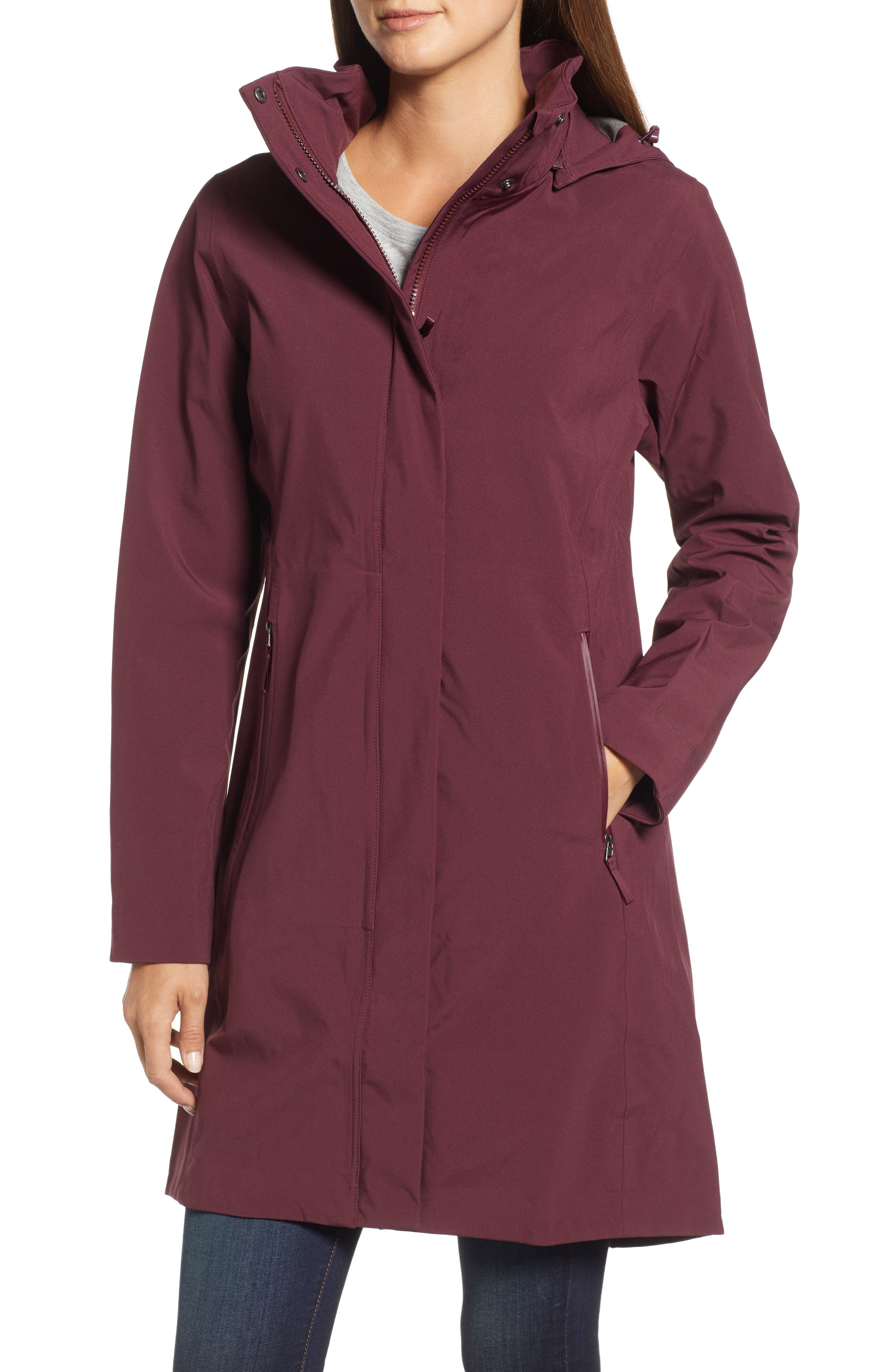 Lash Point Water Resistant Hooded Parka,                             Alternate thumbnail 13, color,