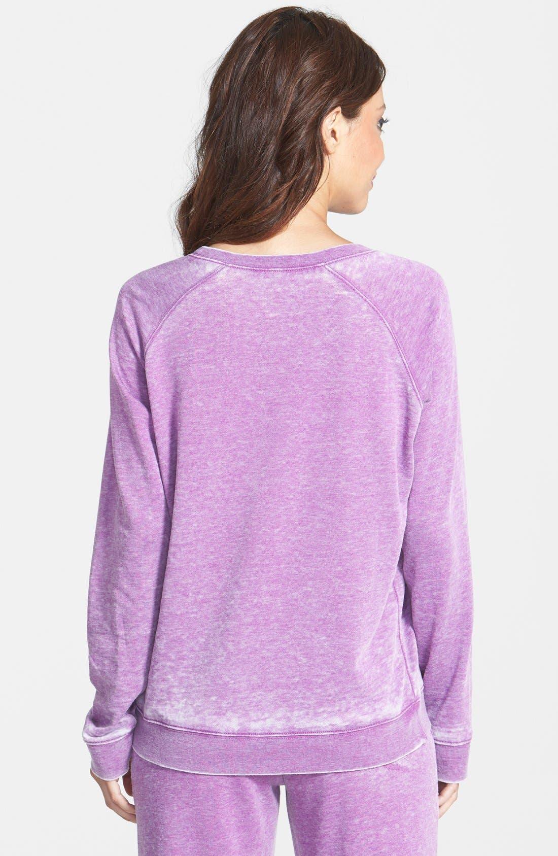 Burnout Lounge Sweatshirt,                             Alternate thumbnail 241, color,