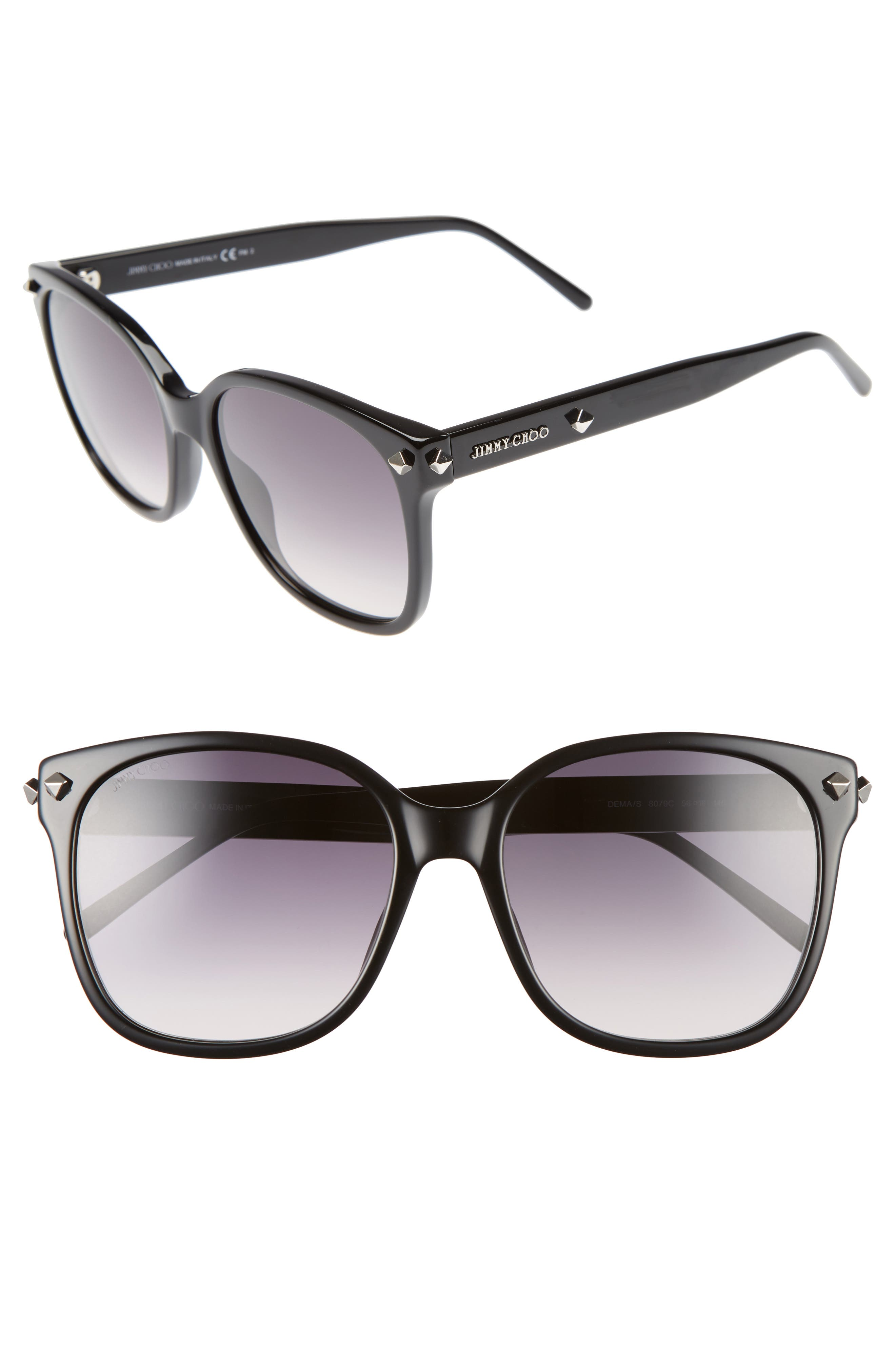 Demas 56mm Sunglasses,                             Main thumbnail 1, color,