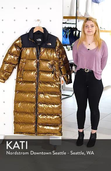 Nuptse Down Coat, sales video thumbnail