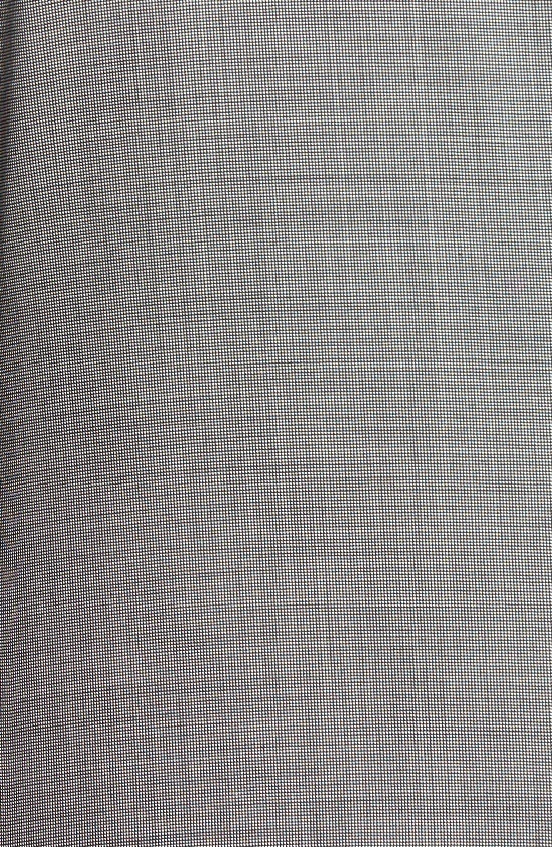 Jay Trim Fit Solid Wool Suit,                             Alternate thumbnail 17, color,                             LIGHT GREY