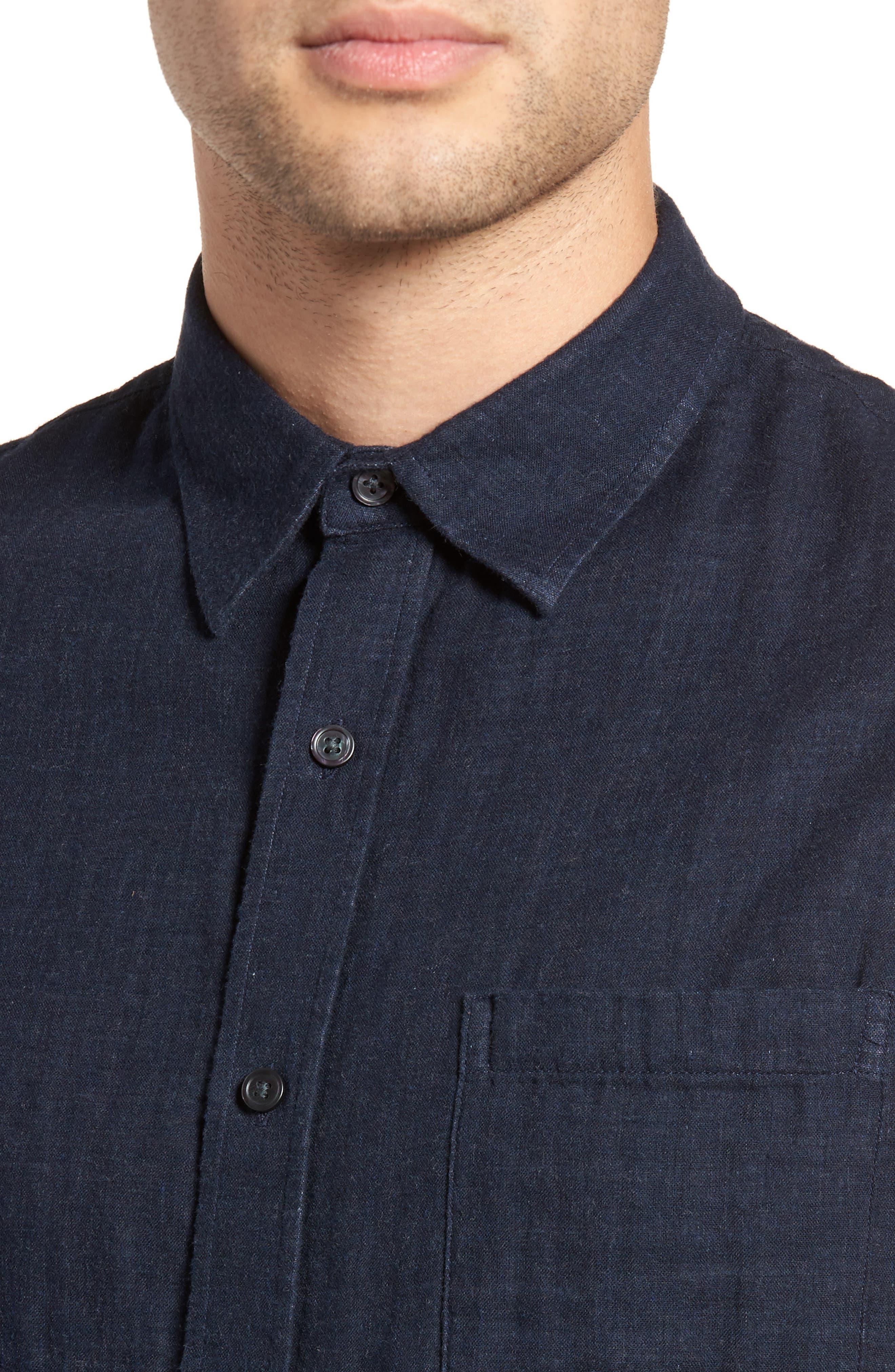 Double Face Sport Shirt,                             Alternate thumbnail 8, color,